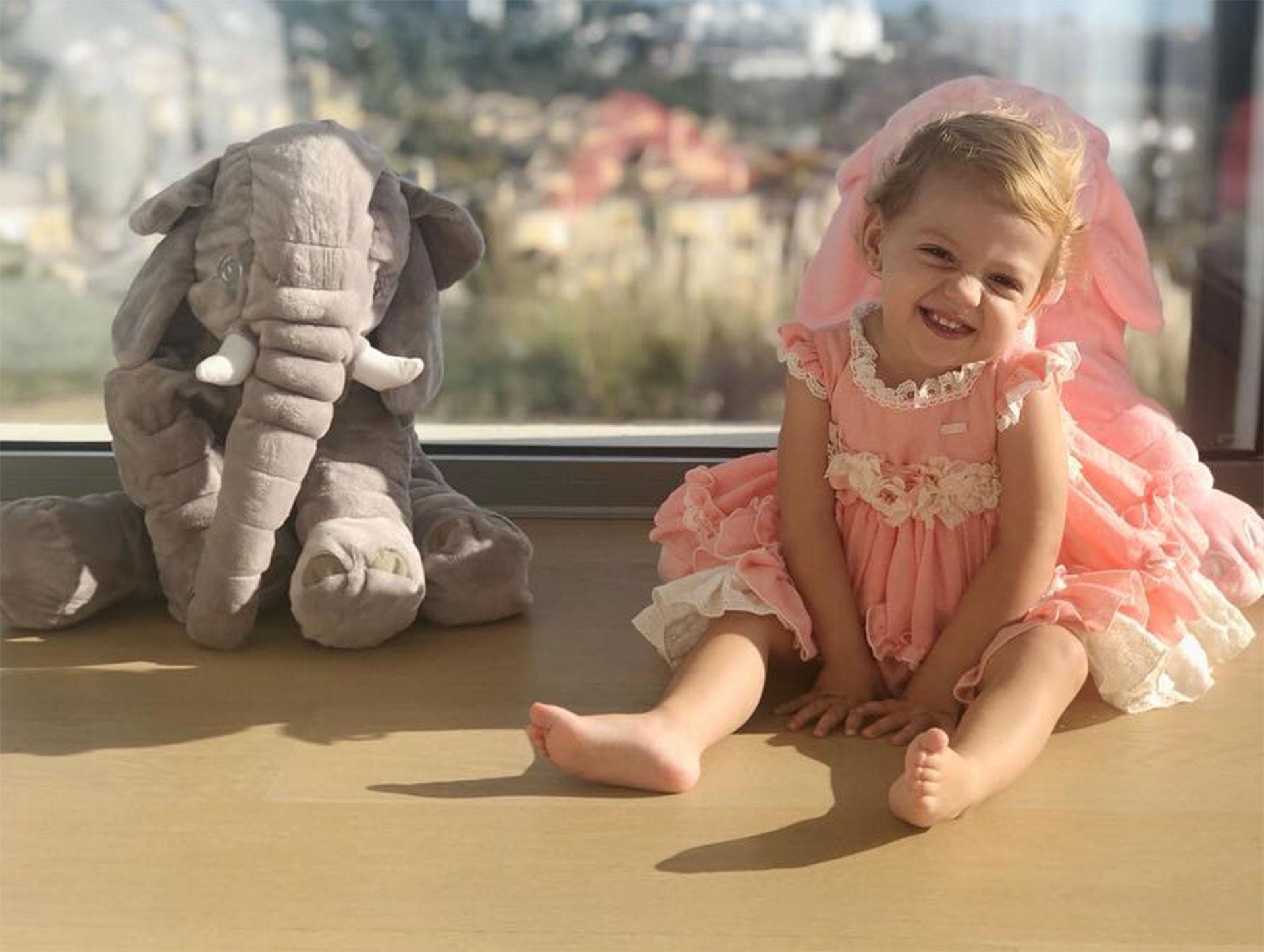 Emma cumplió dos años. (Foto: Instagram)