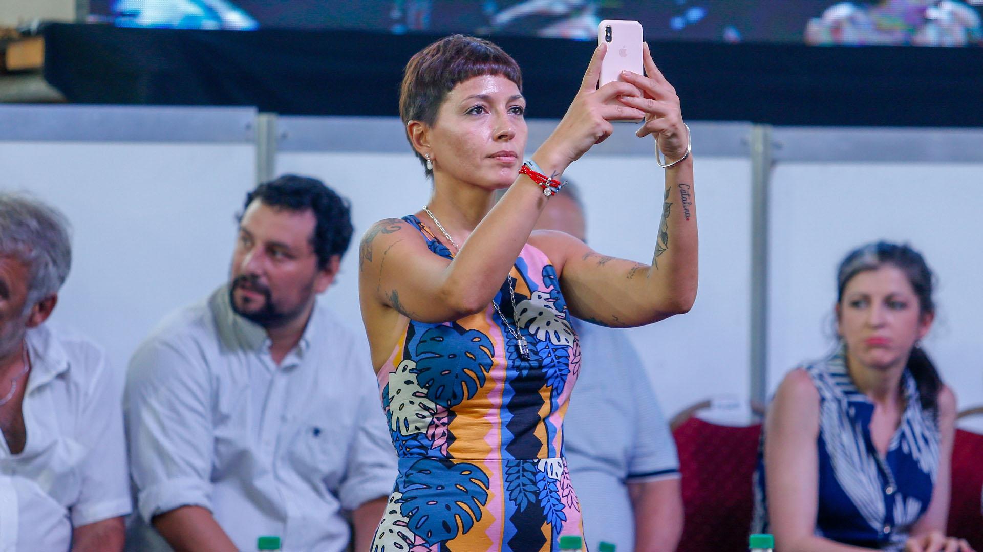 La diputada de Unidad Ciudadana Mayra Mendoza