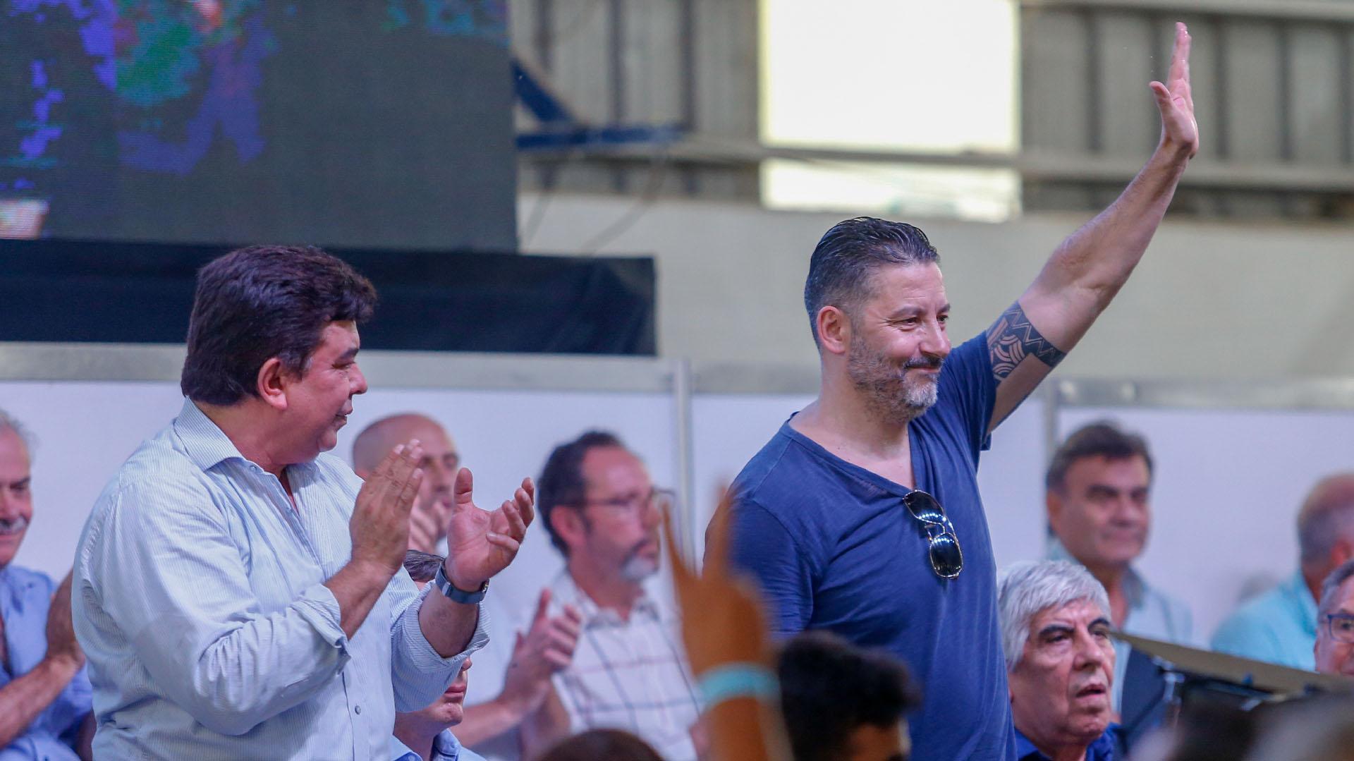 """El intendente de Merlo y vicepresidente del PJ Bonaerense, Gustavo """"Tano"""" Menéndez"""