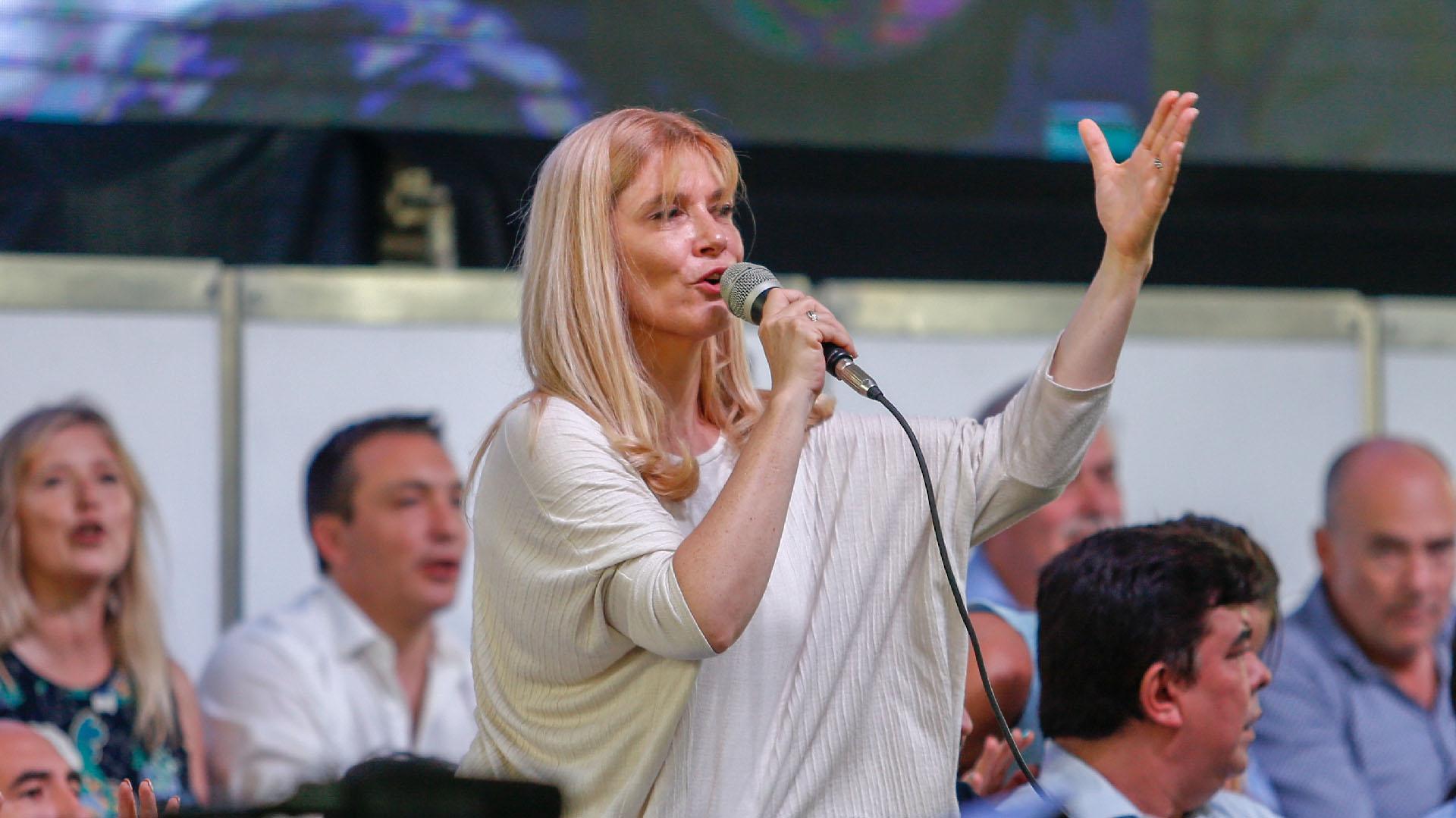La intendenta de La Matanza, Verónica Magario