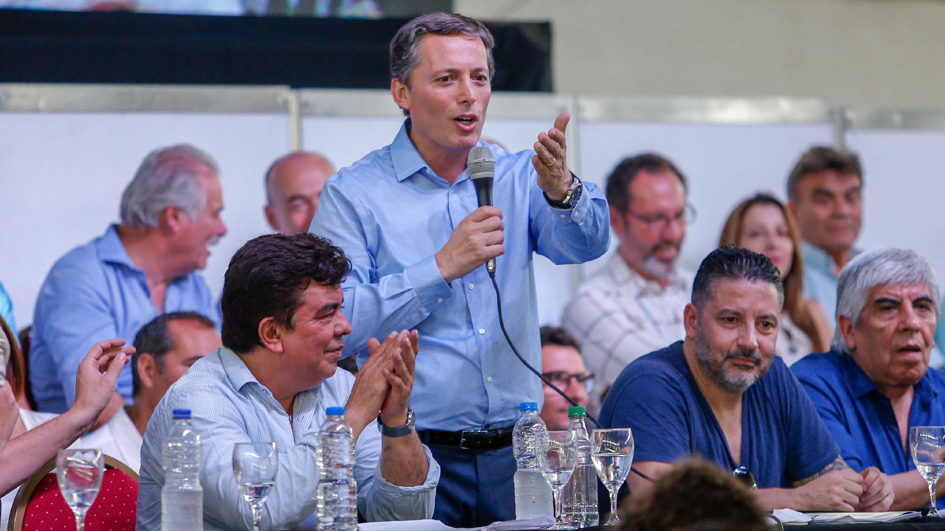 El presidente del PJ Bonaerense, Fernando Gray