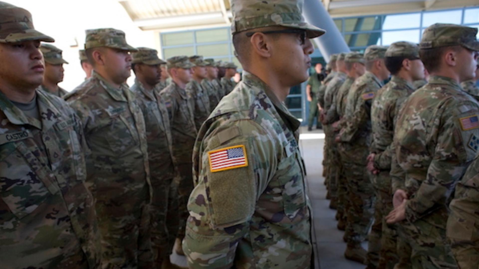 Guardia Nacional de Estados Unidos (Foto: EFE)