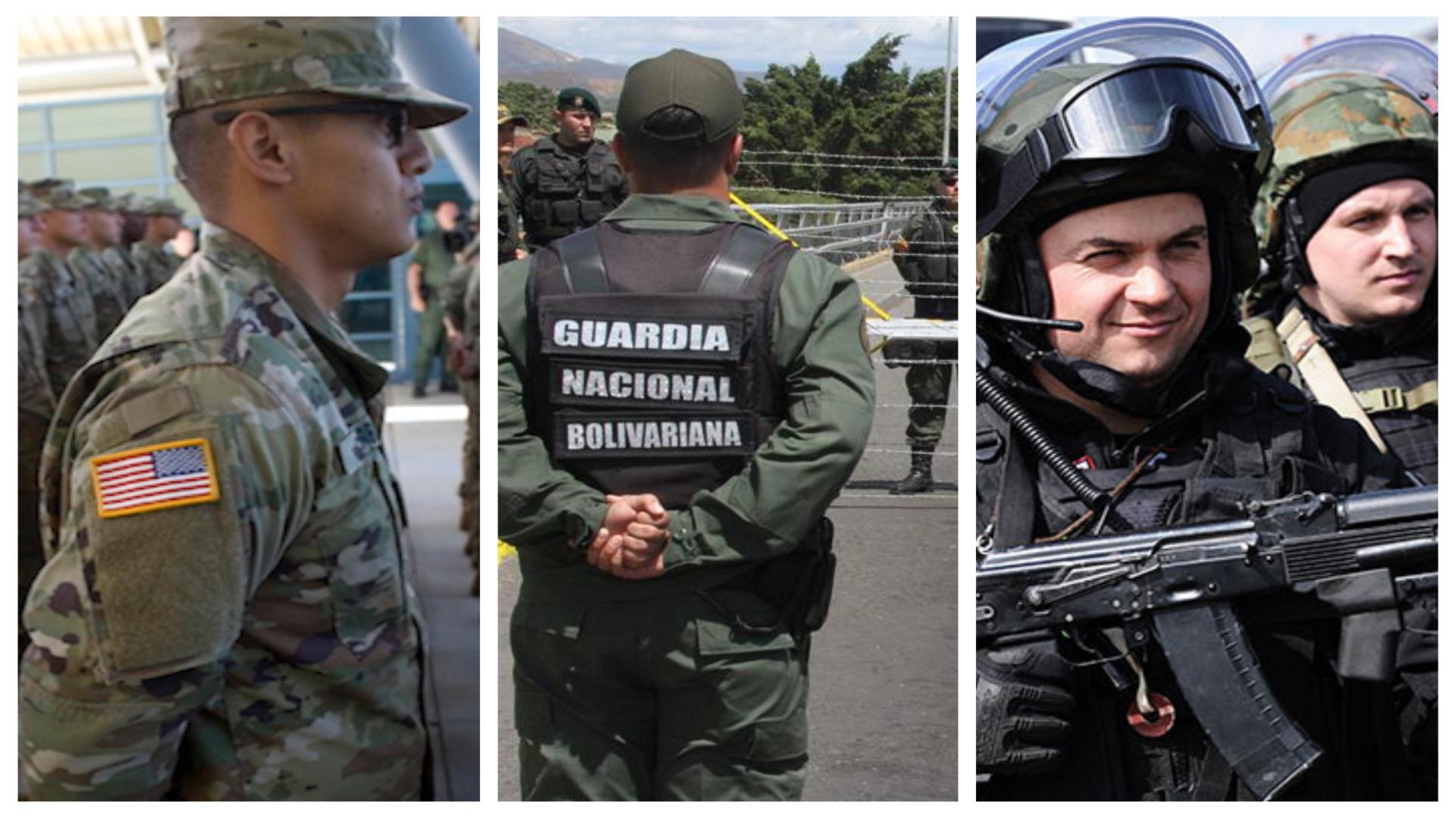 47 países en el mundo tienen una Guardia Nacional (Foto: Especial)