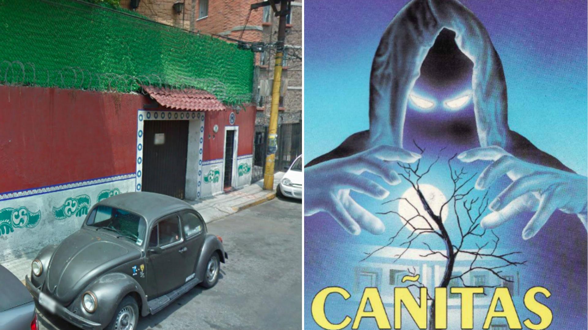 """La casa de """"Cañitas"""" ha dado de qué hablar desde 2007 (Foto: Carlos Trejo, GoogleMaps)"""