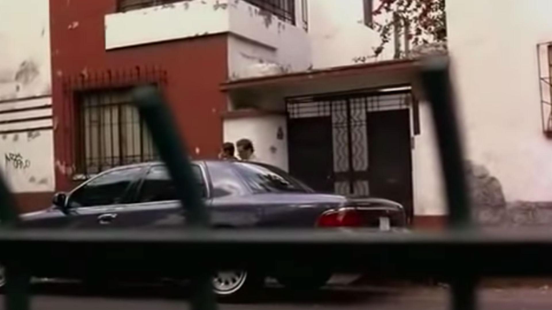 """Esta es la fachada de la casa """"Cañitas"""" en la película homónima (Foto: Película Cañitas)"""