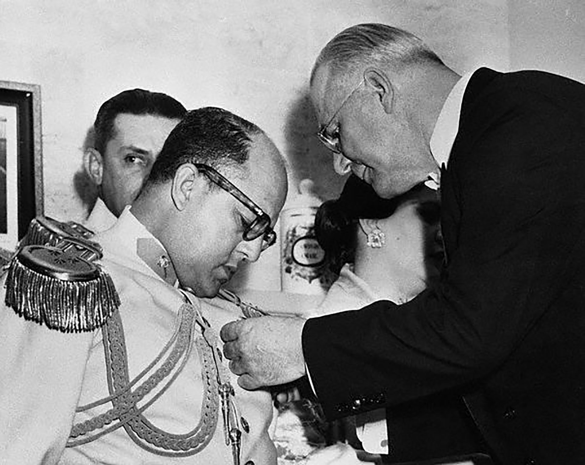 Marcos Pérez Jiménez, el último dictador venezolano en el siglo XX (Bettmann/CORBIS)