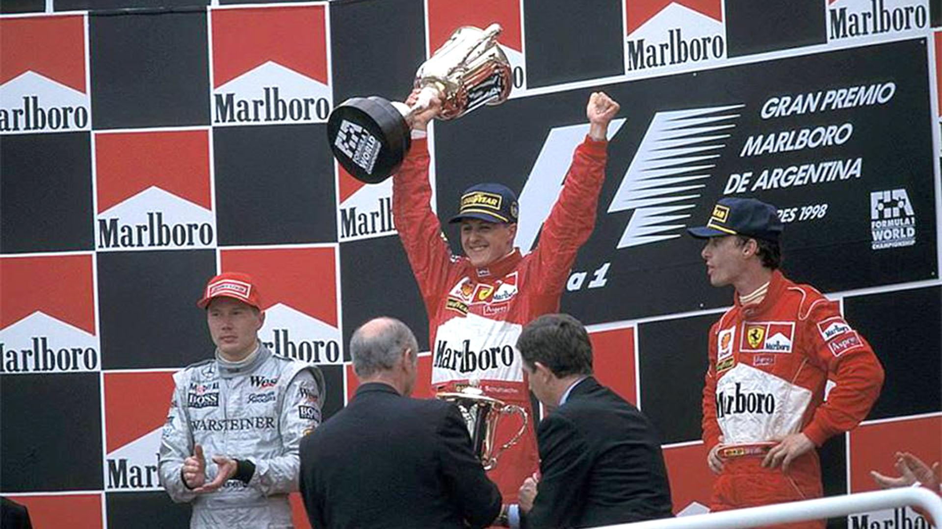 En 1998 se corrió por última vez en el autódromo de Buenos Aires. El ganador fue Michael Schumacher