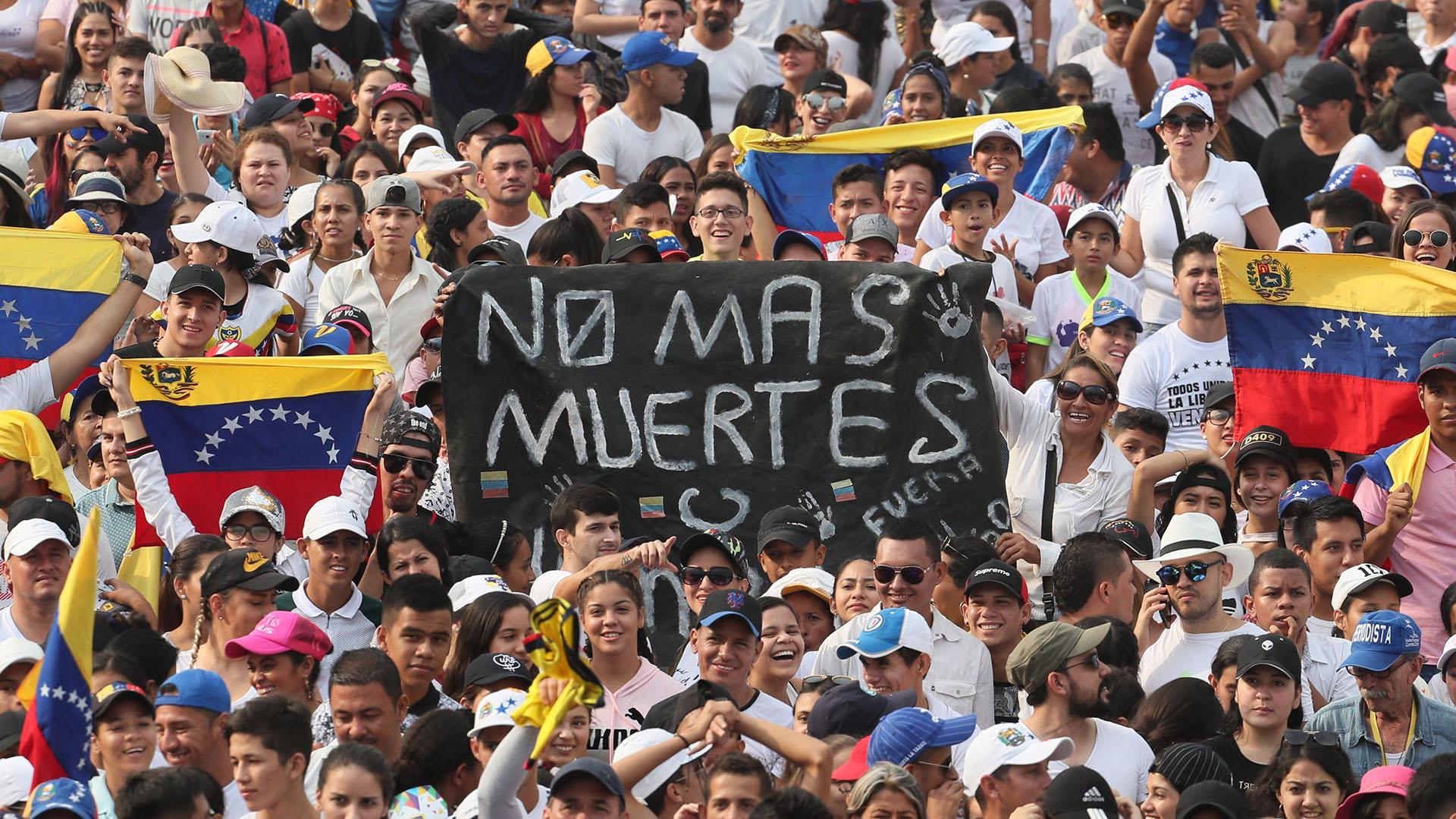 """""""No más muertes"""" (EFE)"""
