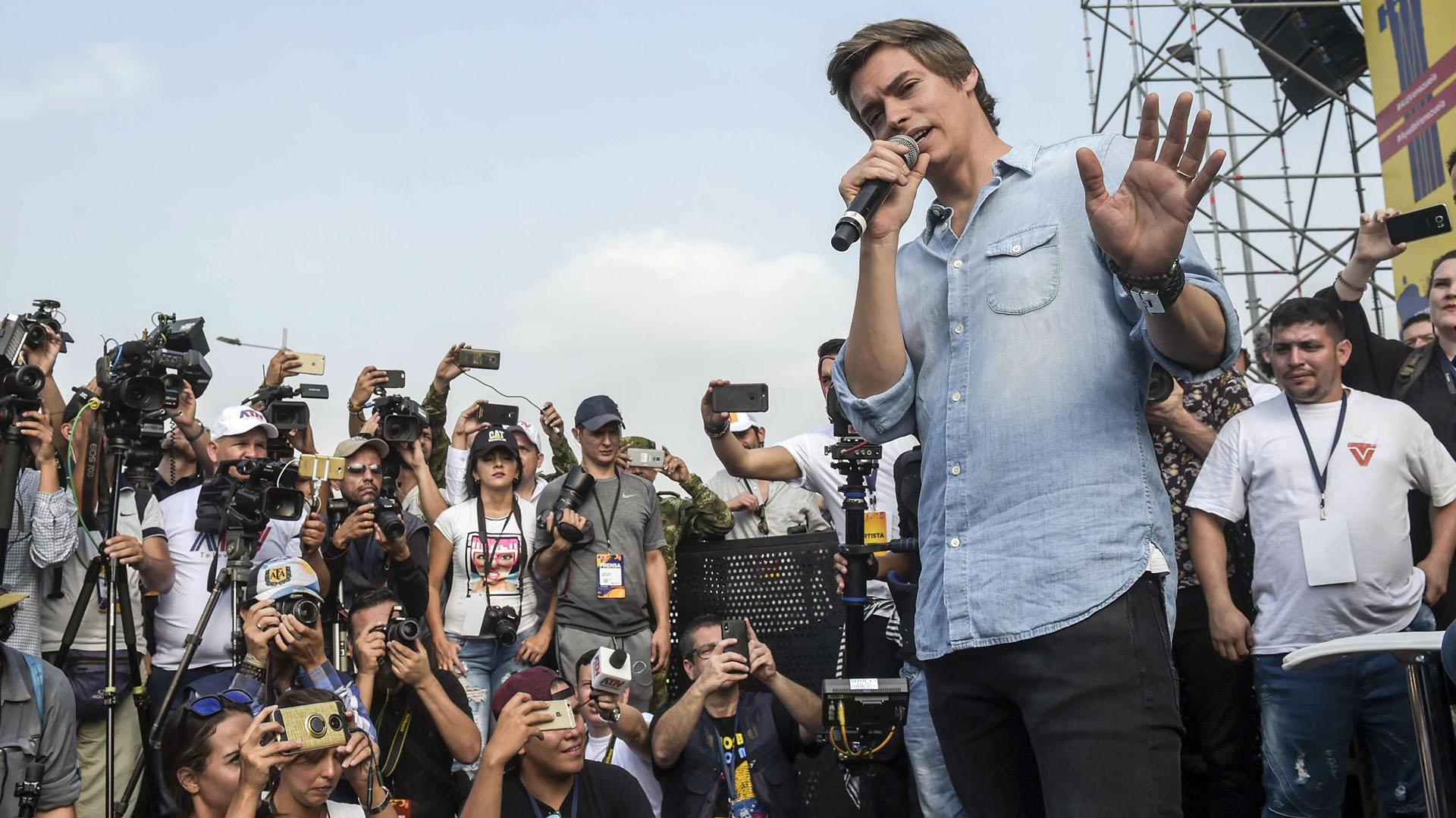 Carlos Baute (AFP)