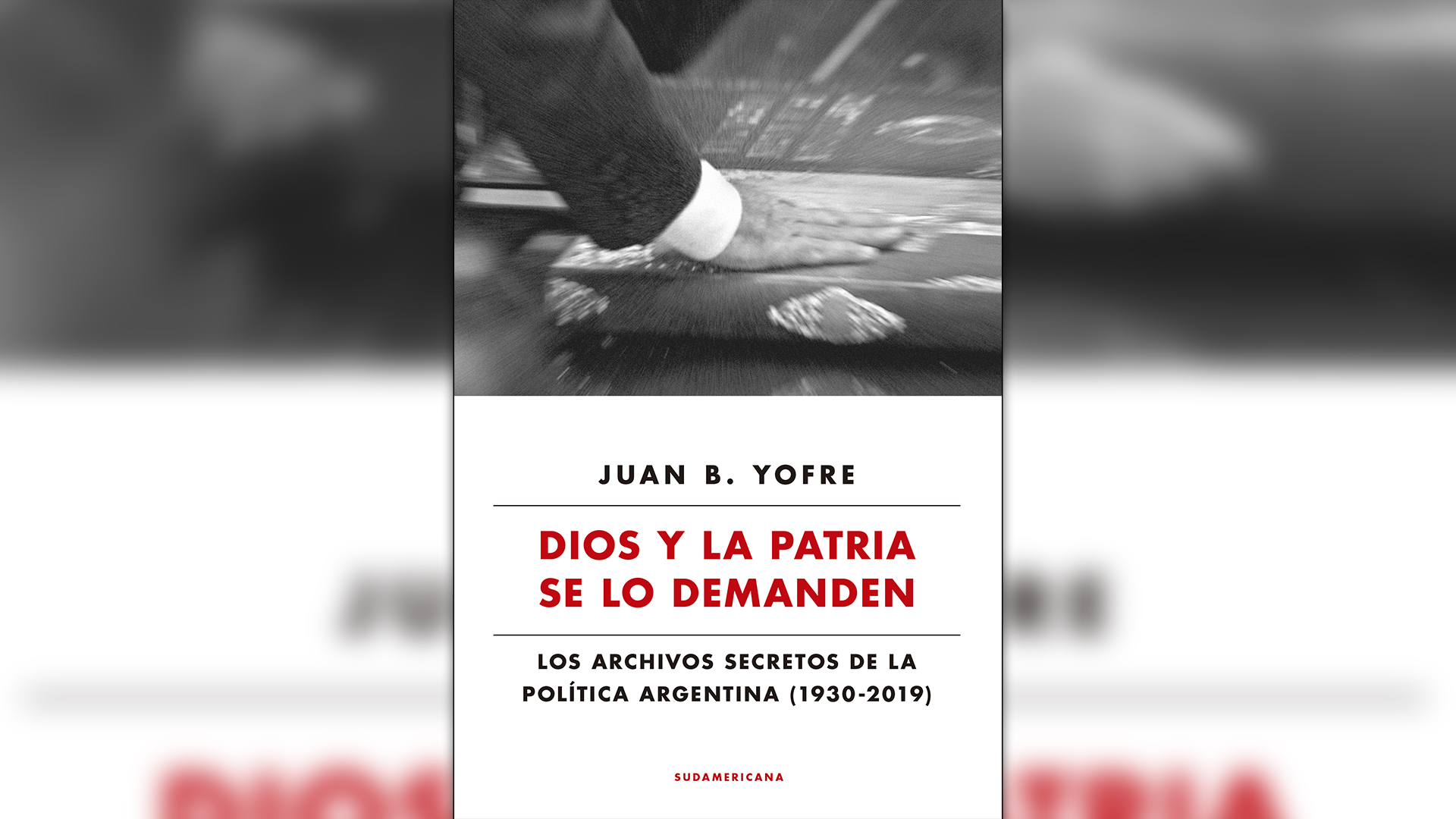 """La portada del nuevo libro del """"Tata"""" Yofre"""