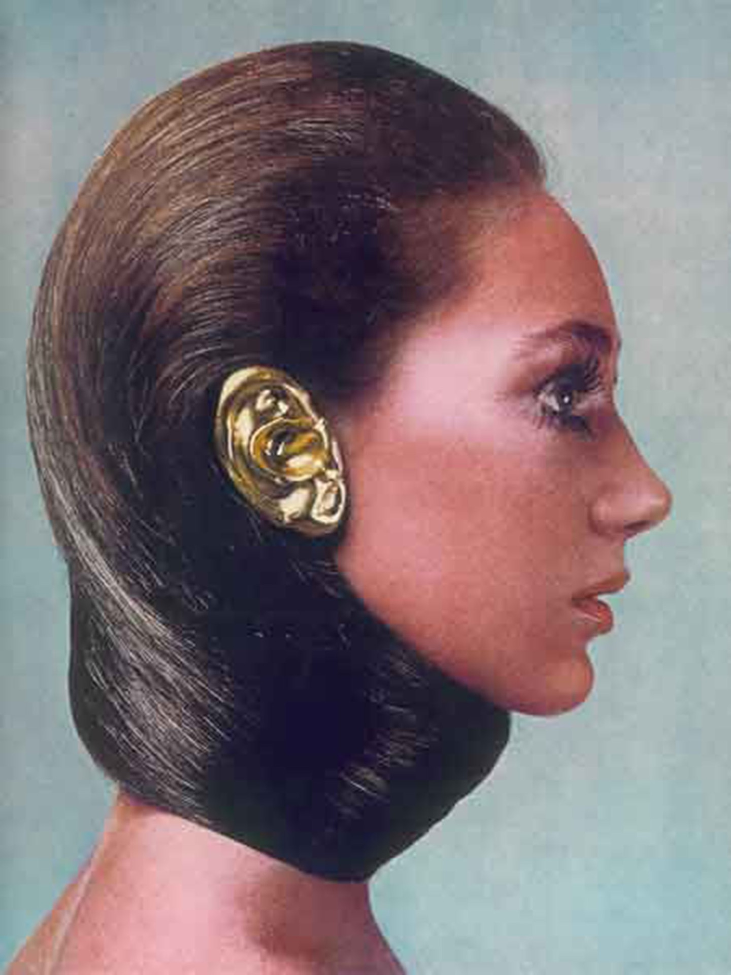 La obra de Eduardo Costa en Vogue 1968.