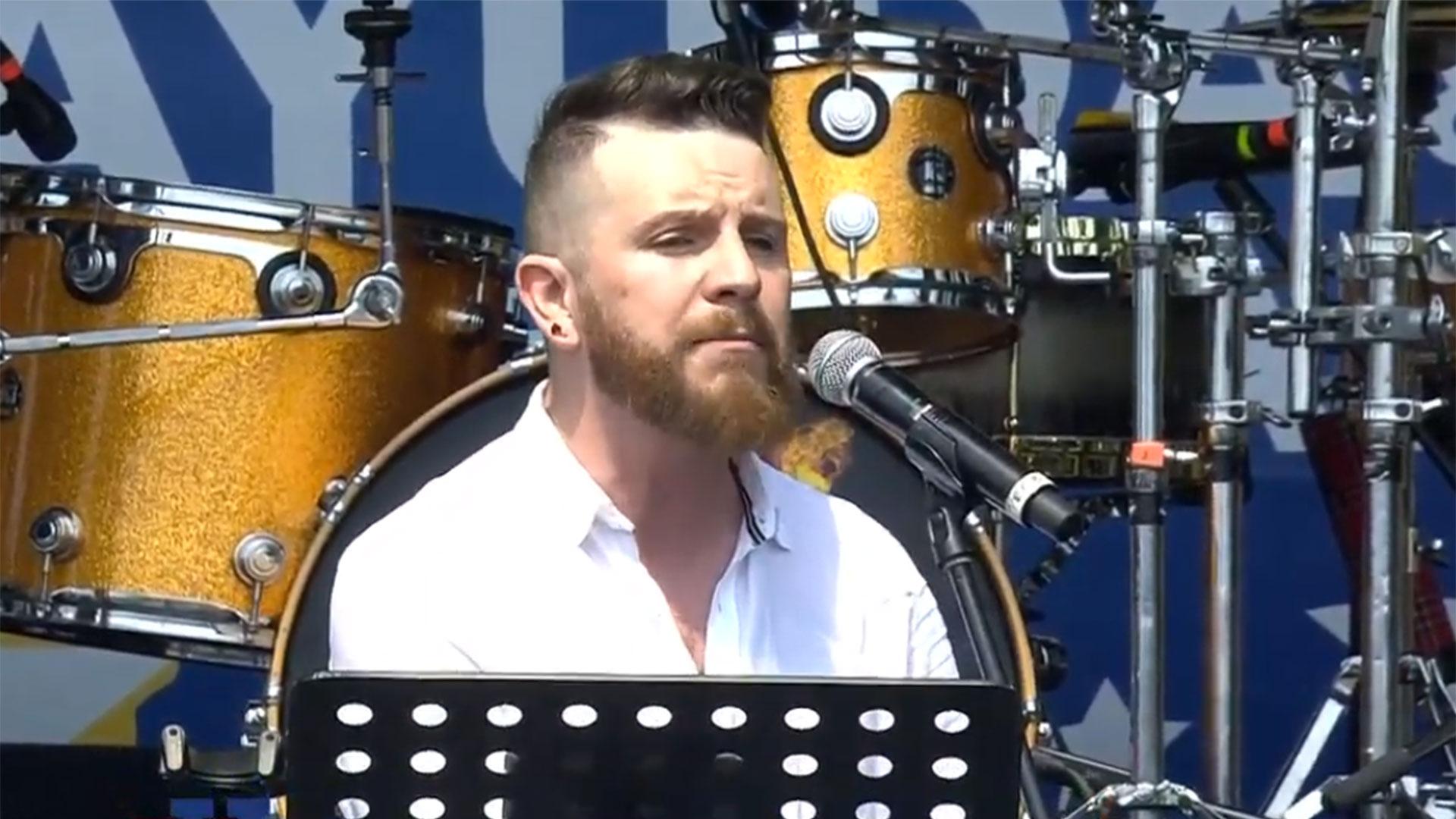 """Daniel Habif, un influencer mexicano, emitió un emotivo discurso en el concierto """"Venezuela Aid Live"""""""