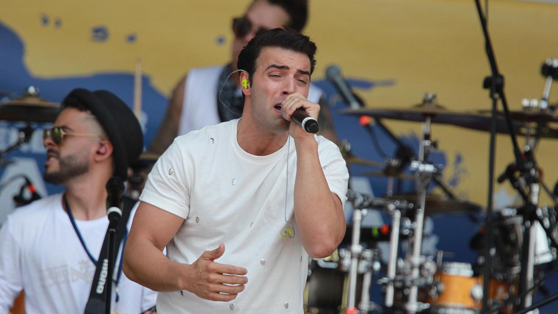 El cantante y actor estadounidense Jencarlos Canela. (EFE)