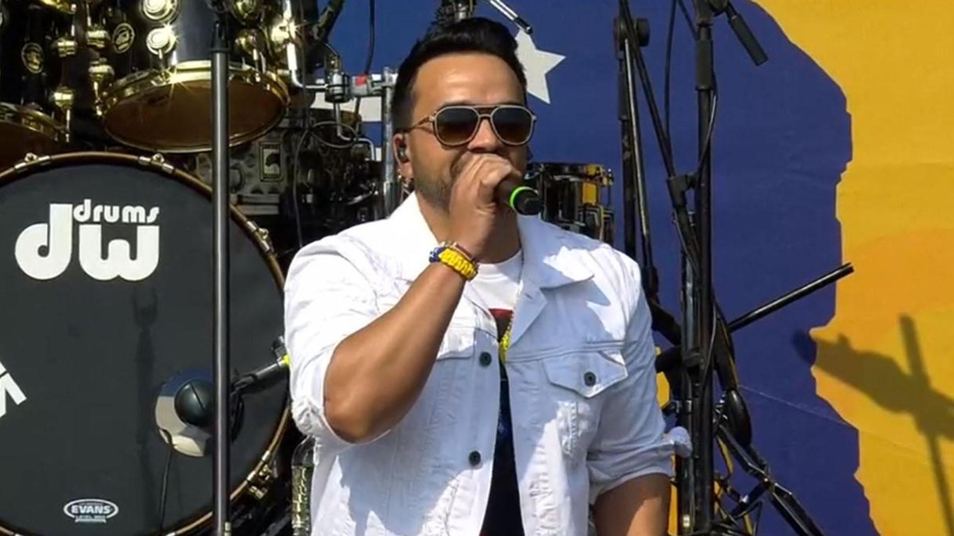 El cantante puertorriqueño Luis Fonsi