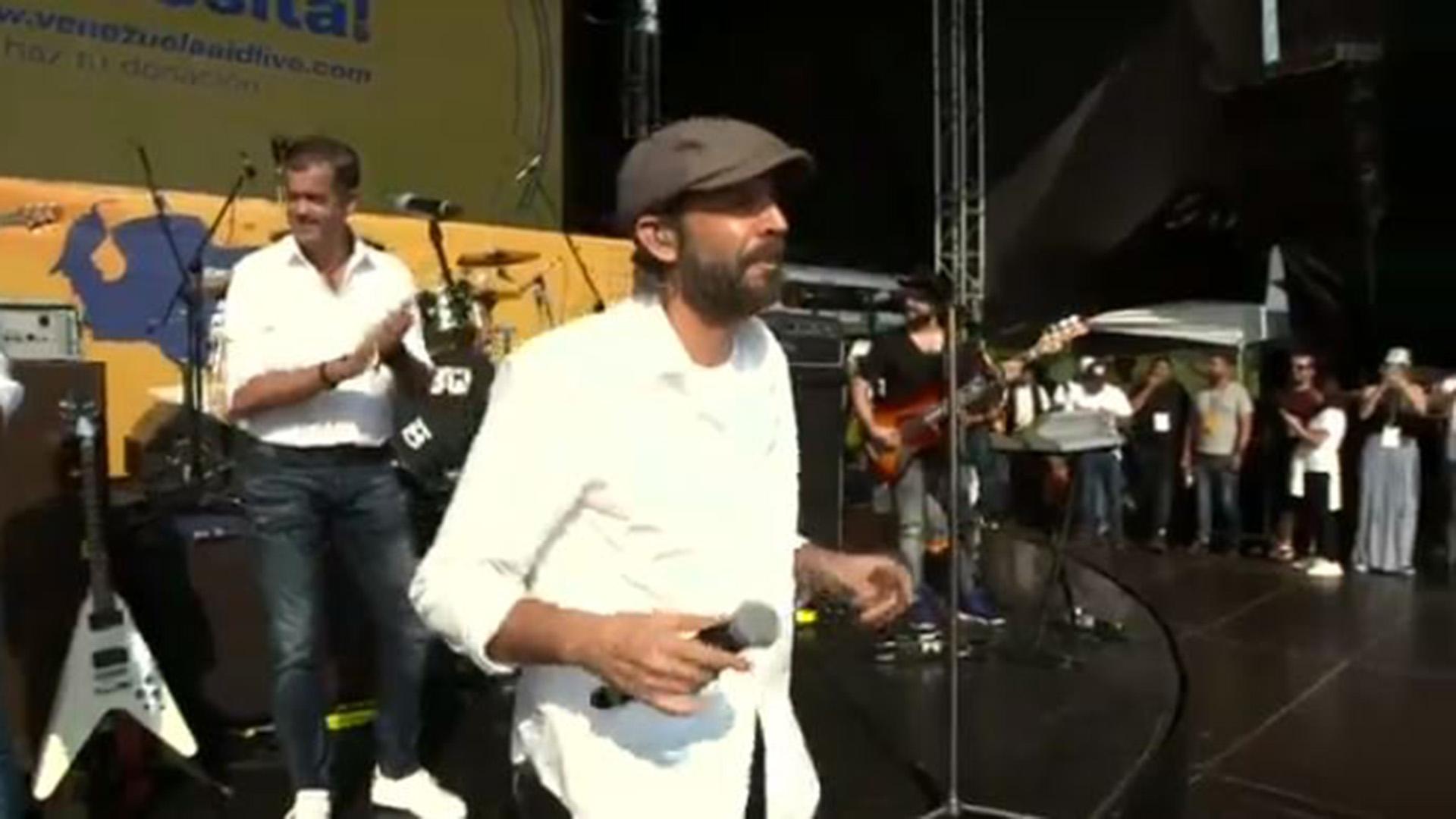 El cantante dominicano Juan Luis Guerra