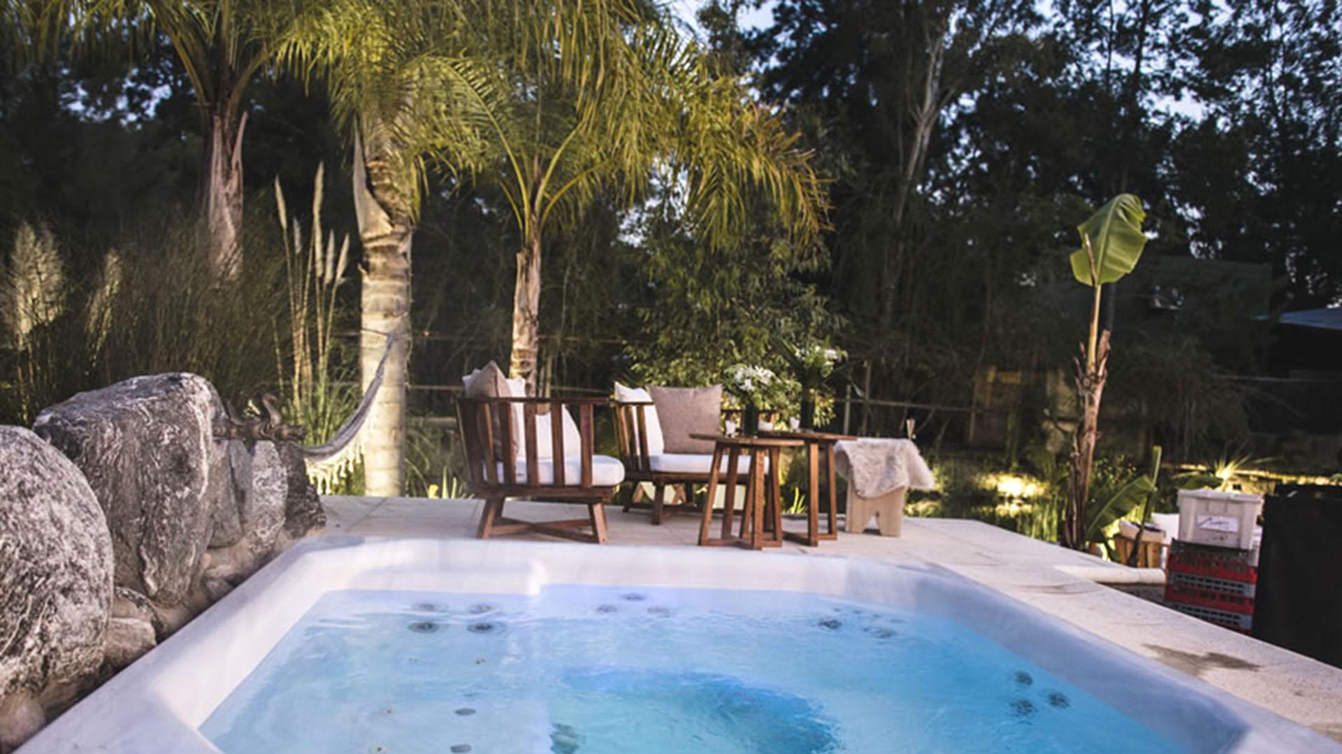 Xanadú ofrece servicio de sauna e hidromasaje