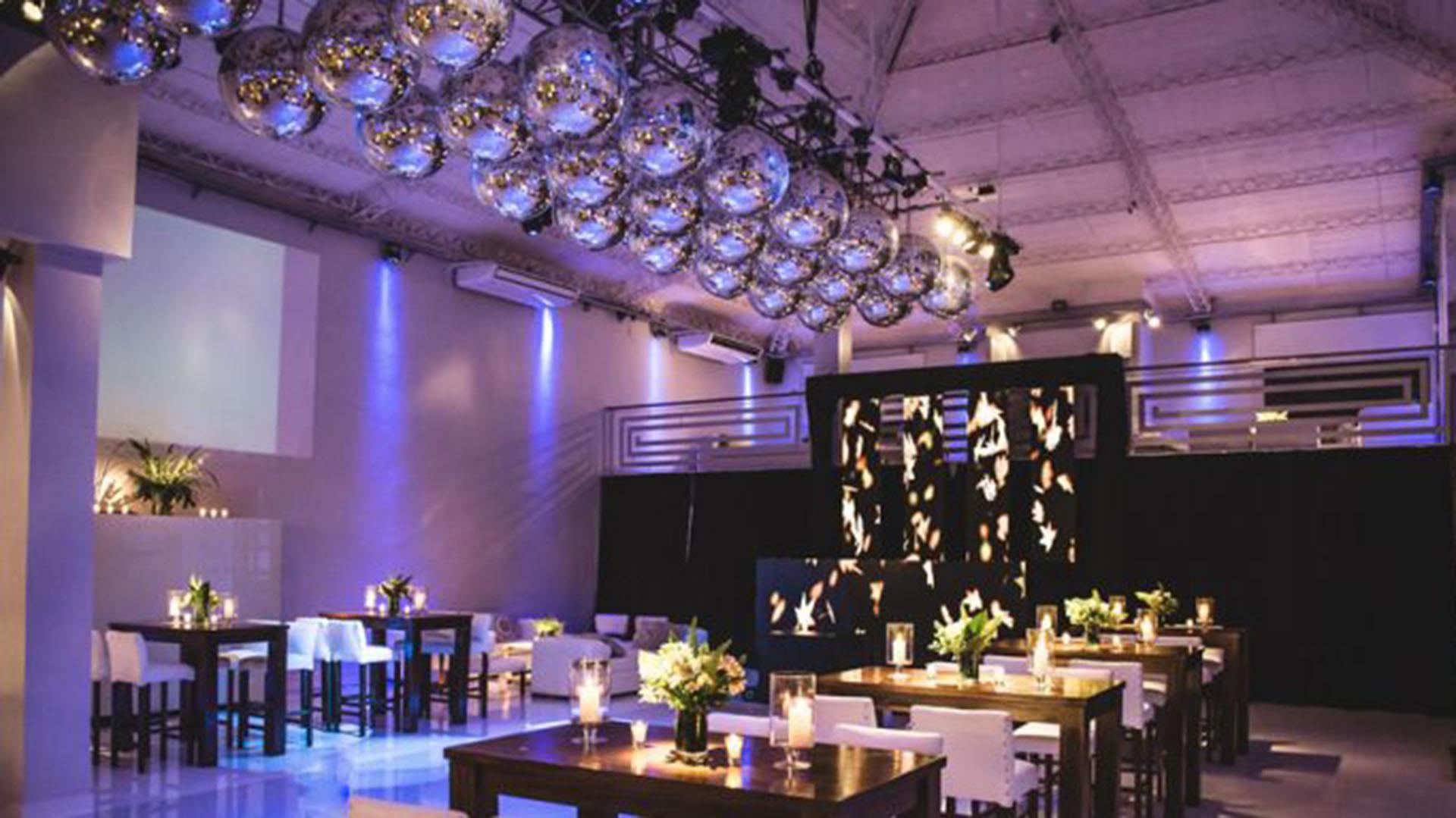 El complejo ofrece sus salones para todo tipo de fiestas: casamientos, despedidas de solteros y cumpleaños de 15, entre otros
