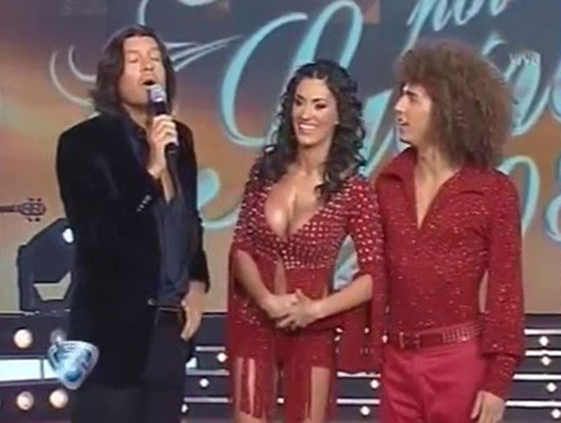 "Natacha Jaitt en ""Bailando por un sueño"""