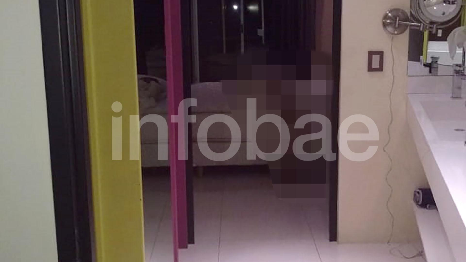 La habitación donde fue hallada muerta Natacha Jaitt