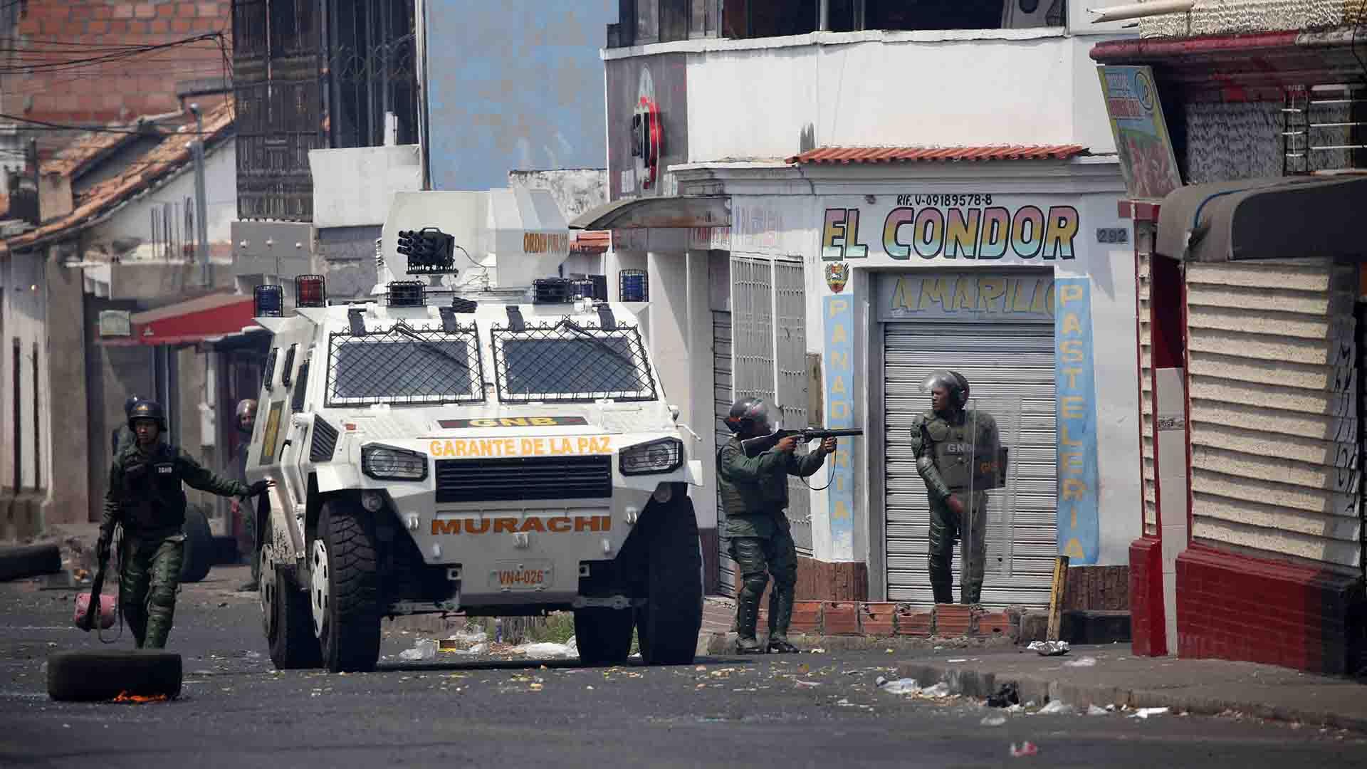 Represión en Venezuela (REUTERS/Andres Martinez Casares)