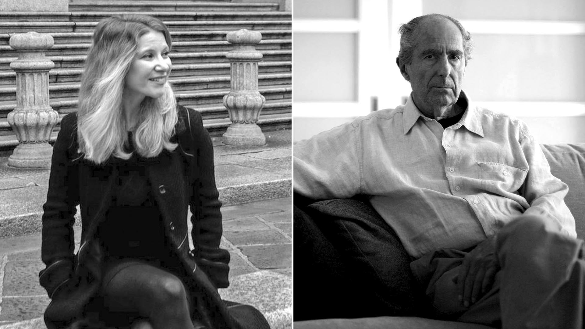 Lisa Halliday y Philip Roth