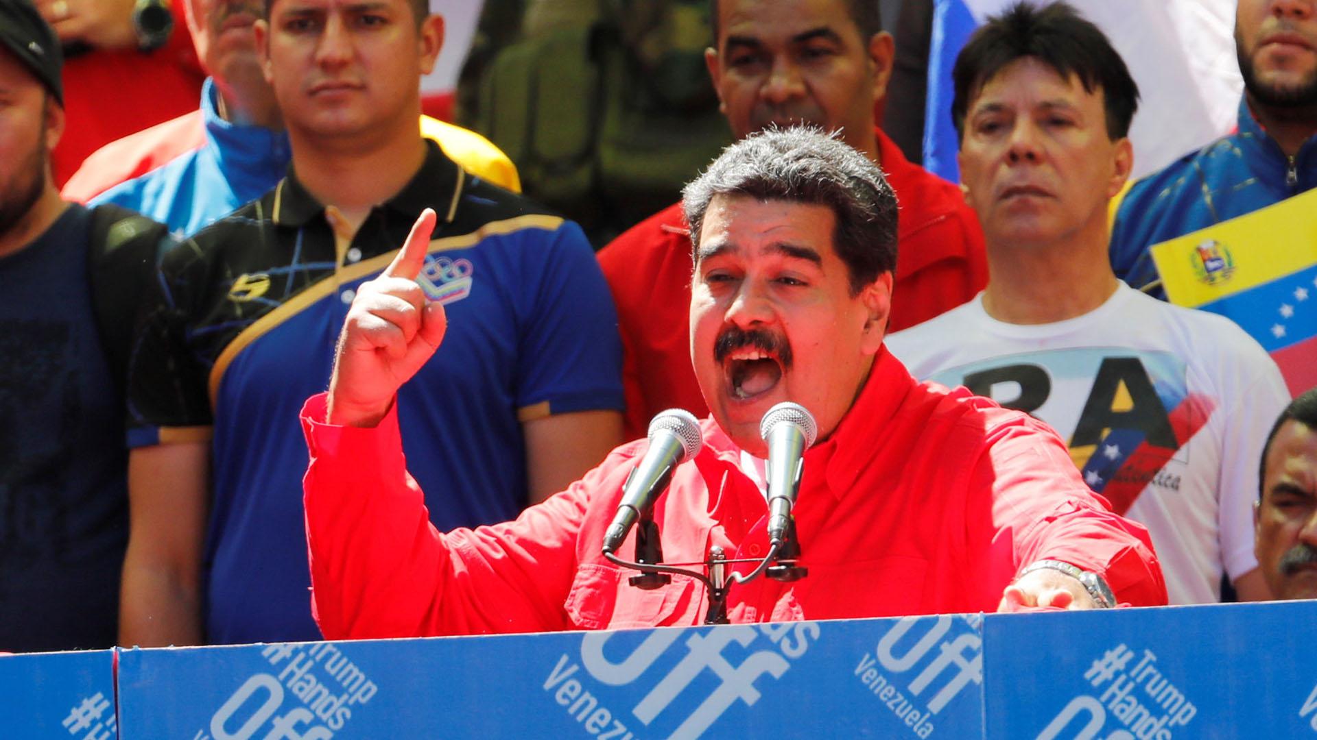 Nicolás Maduro, cada vez más aislado (Reuters)