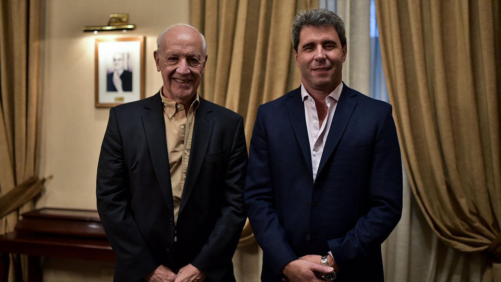 Roberto Lavagna y Sergio Uñac