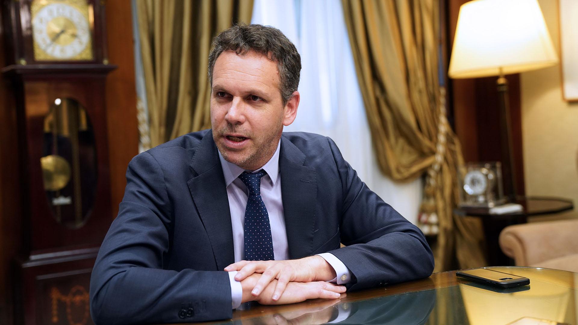 Guido Sandleris, presidente del Banco Central (Pablo E. Piovano/Bloomberg)