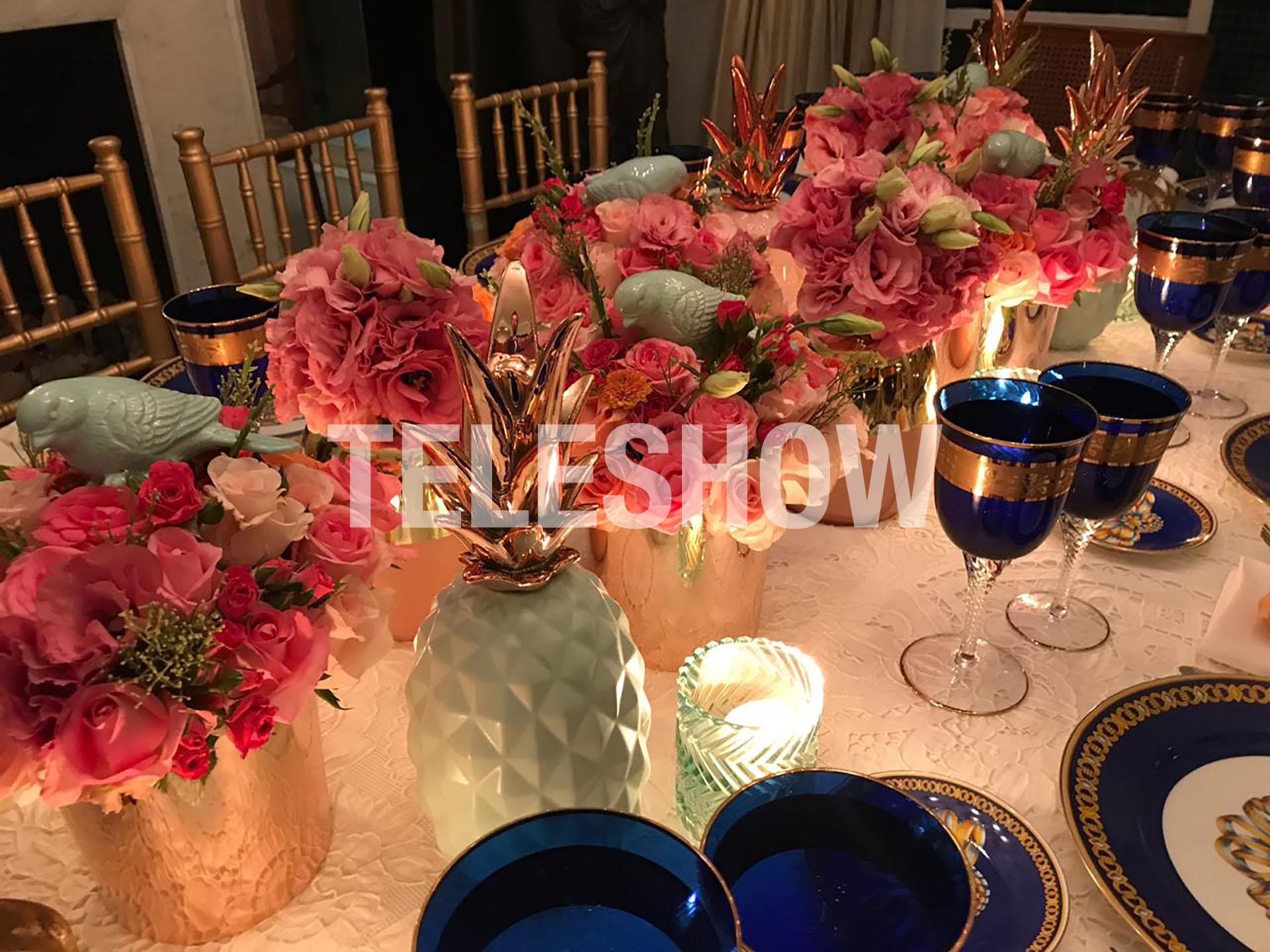 Las rosas, un clásico en las mesas de Mirtha