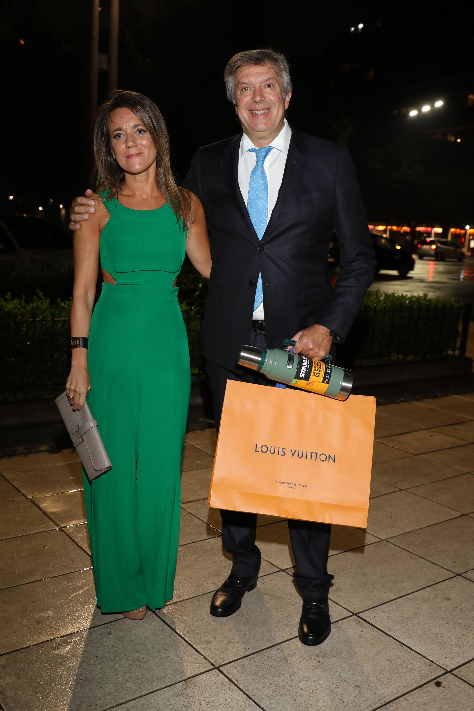 Mauricio D'Alessandro y su mujer, Mariana Gallego