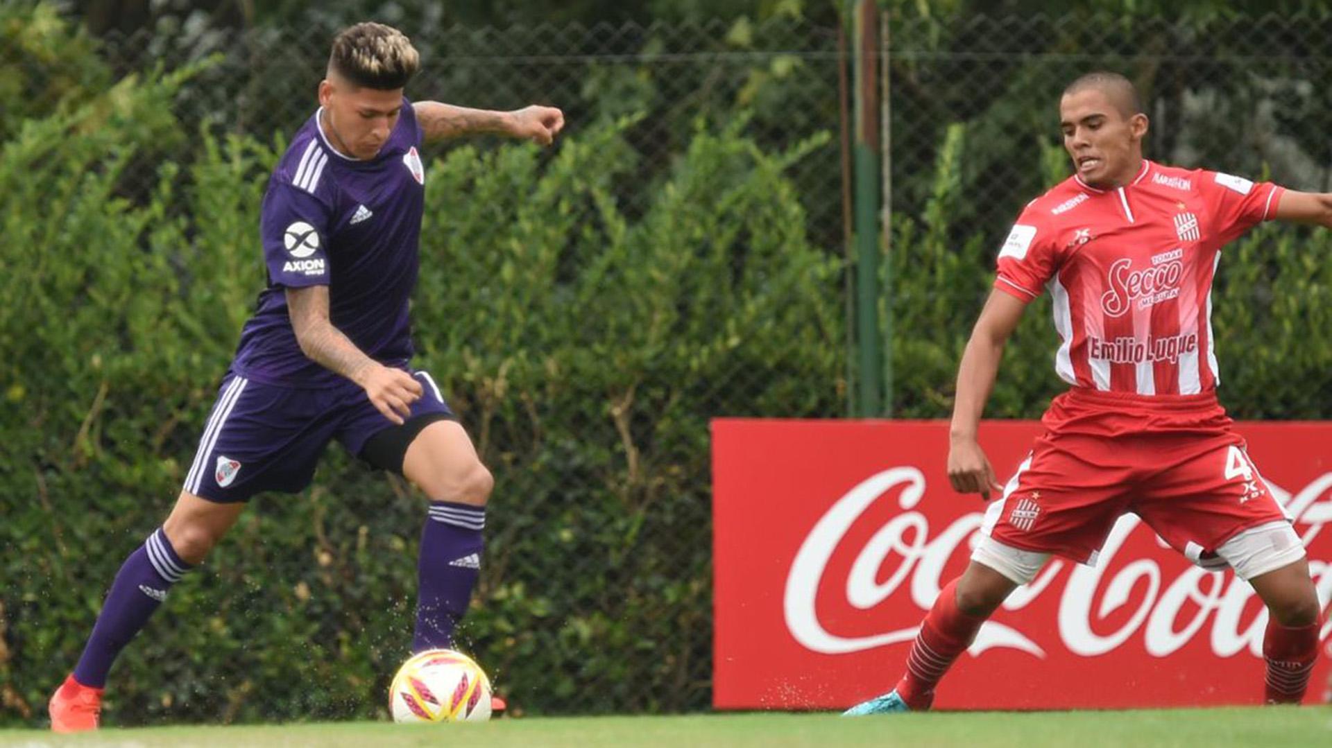 El colombiano jugó como titular por única vez ante Tigre en un duelo correspondiente a la Superliga
