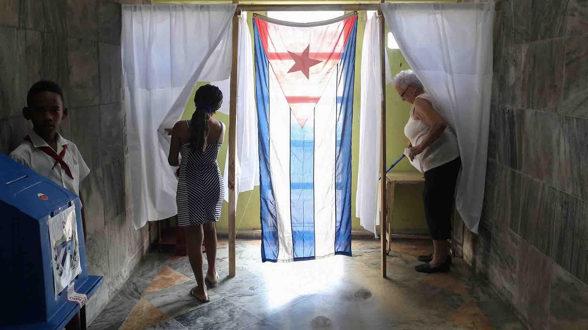 Más del 70% del padrón participó del referéndum, según las autoridades cubanas(REUTERS/Fernando Medina NO RESALES. NO ARCHIVE)