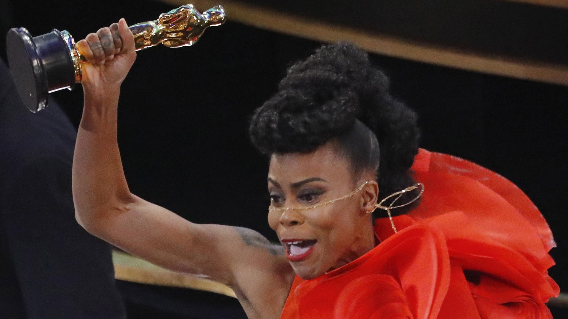 """Hannah Beachler, ganadora al Oscar al mejor diseño de producción por """"Black Panther"""". (REUTERS/Mike Blake)"""