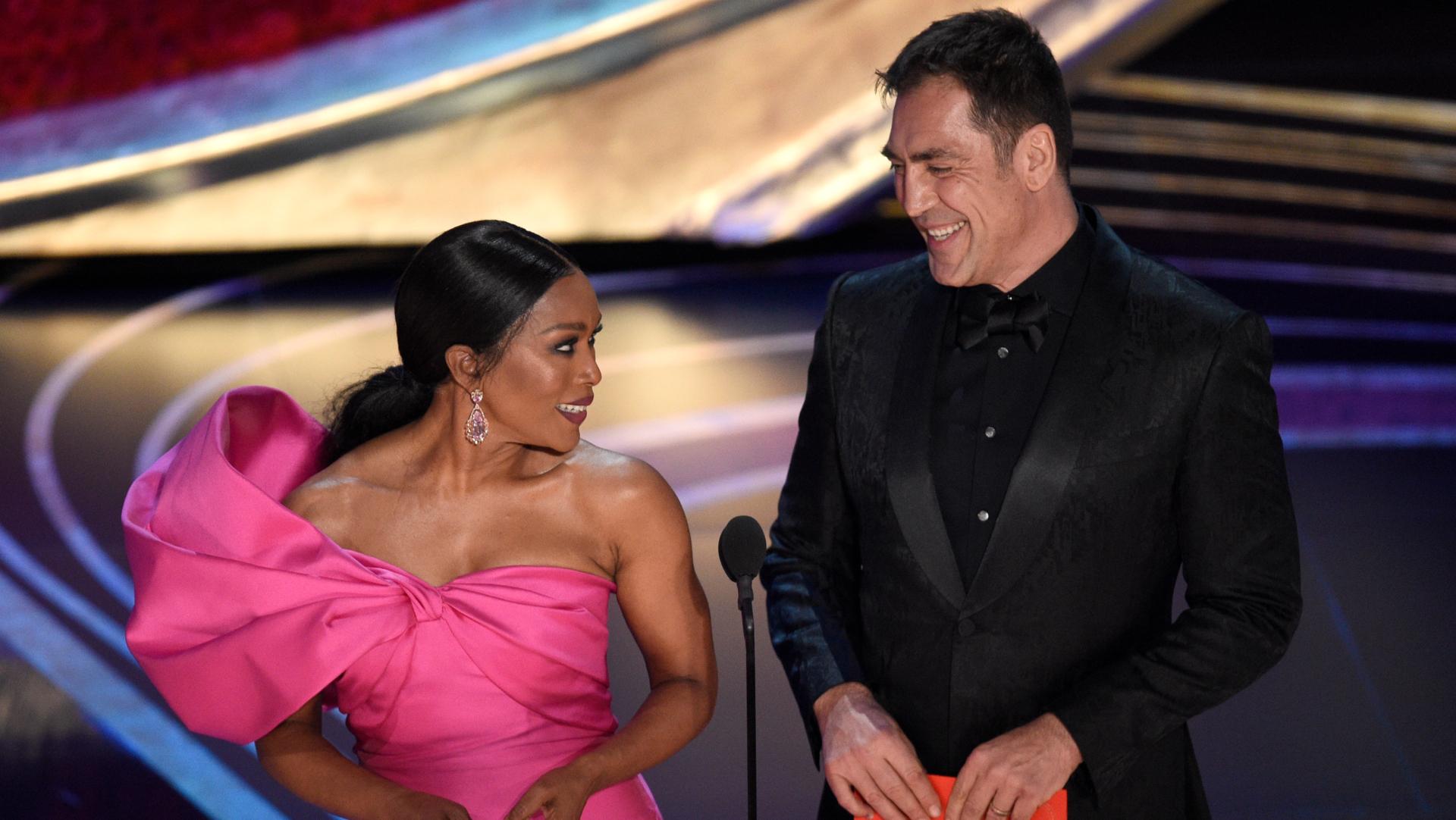 Javier Bardem en la entrega de los premios Oscar (Foto: AP)