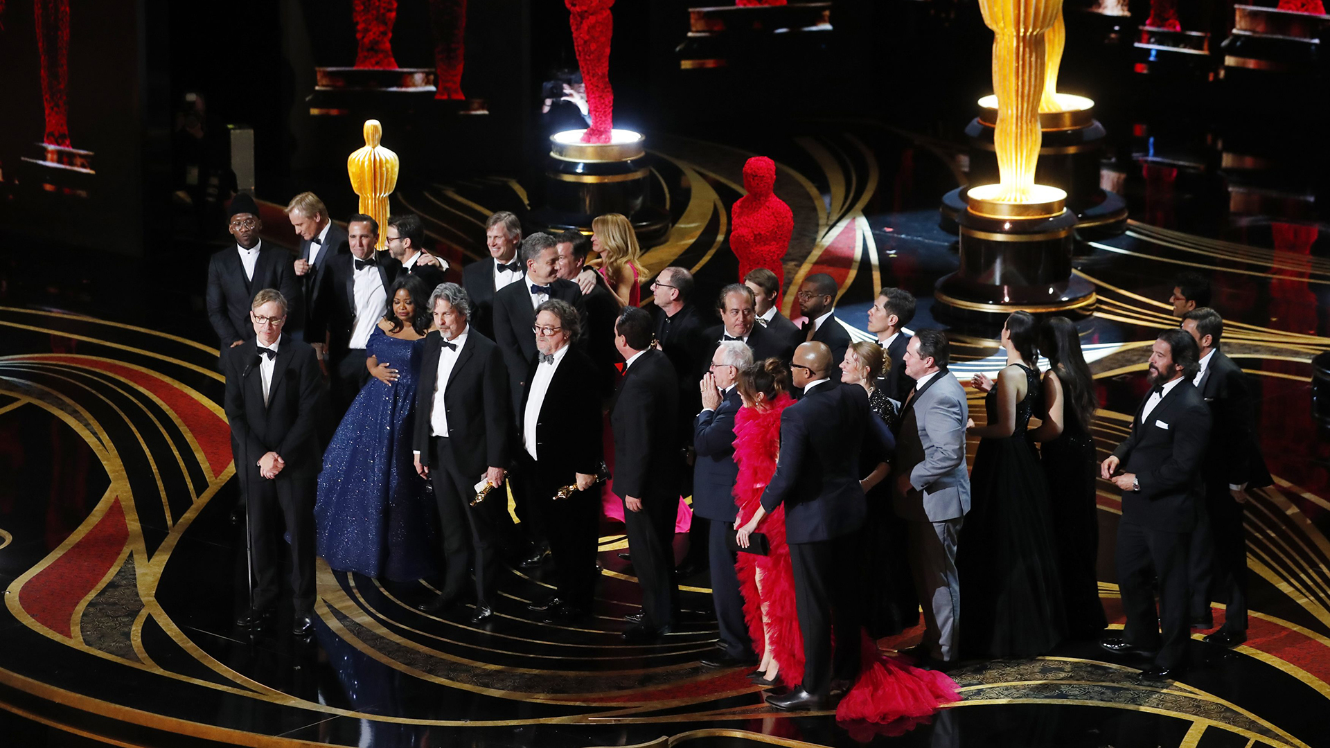 """Green Book"", ganadora a la mejor película (REUTERS/Mike Blake)"