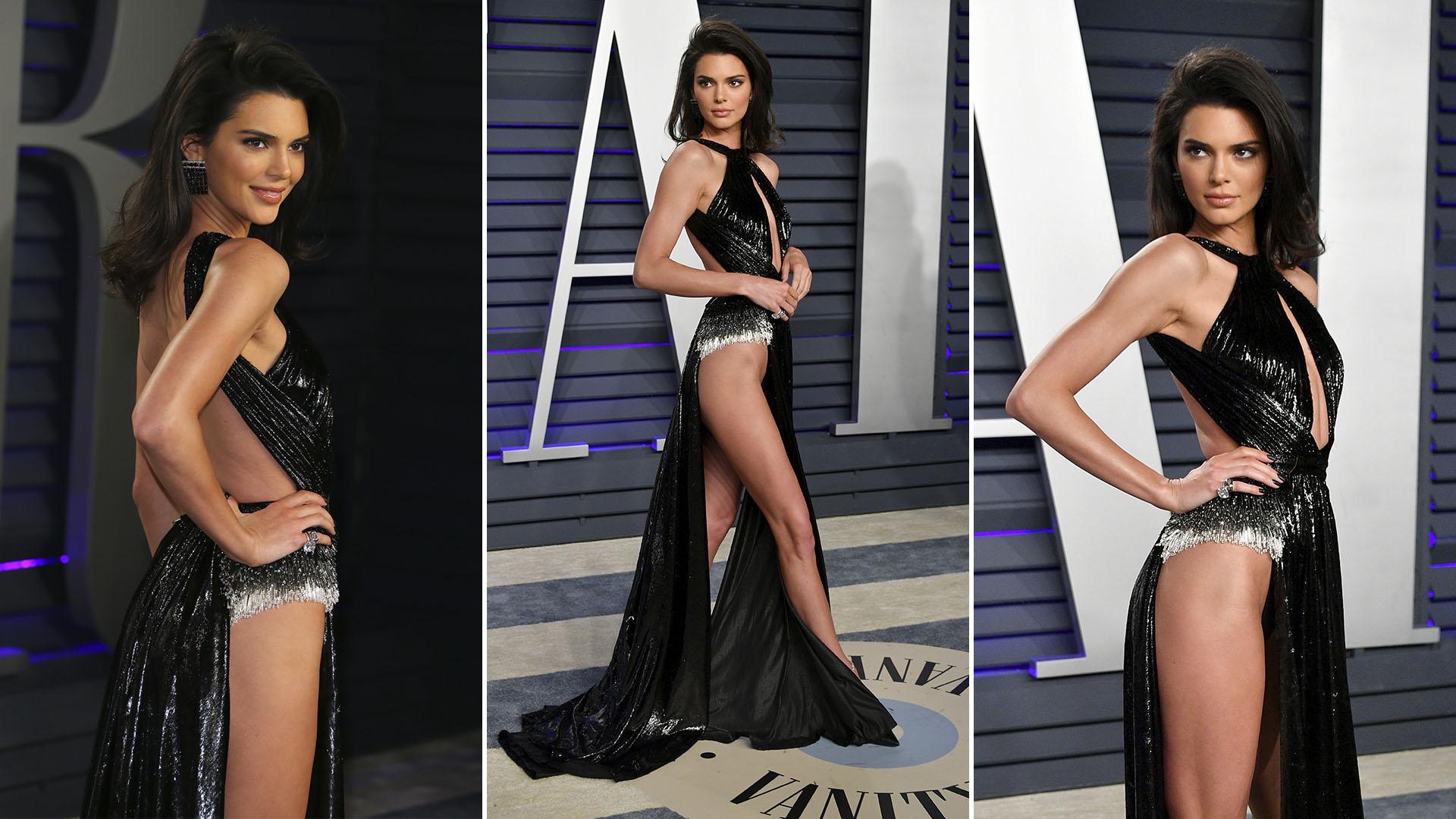 El sensual look de Kendall Jenner en los Oscar