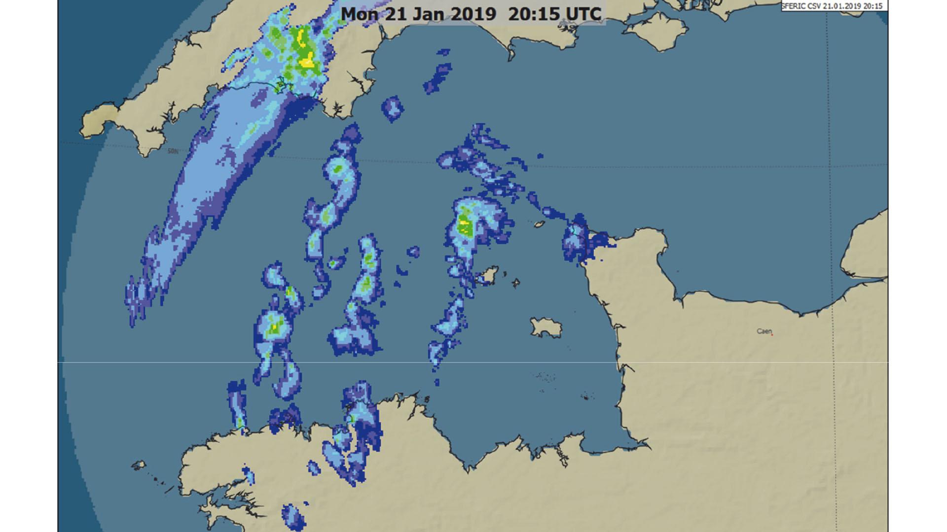 Radar de precipitaciones