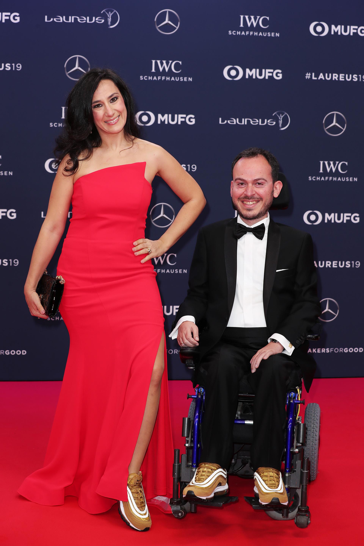 EL deportista Grigorios Polychronidis nominado en la alfombra roja