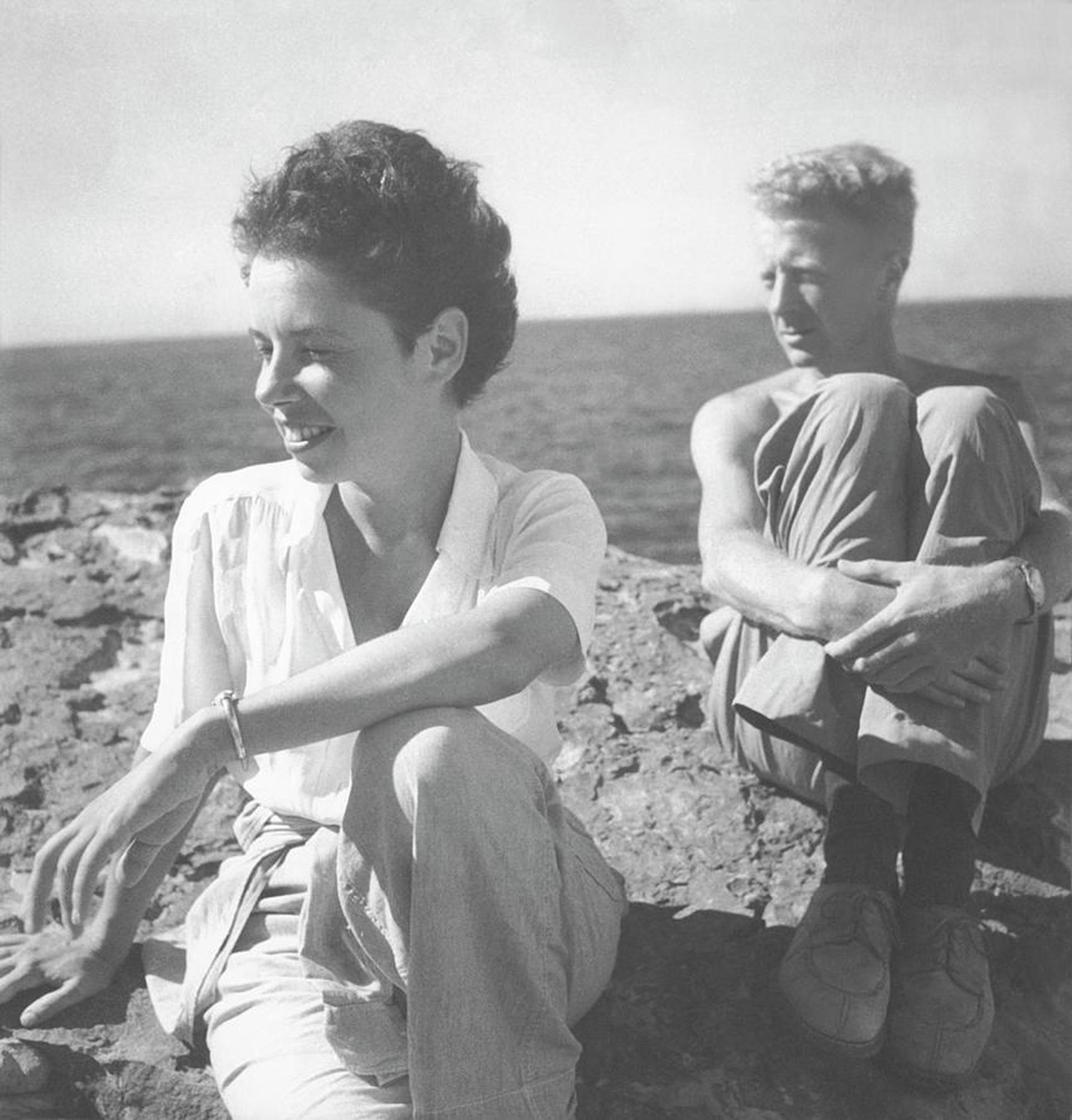Paul y Jane Bowles, fotografiados por Cecil Beaton