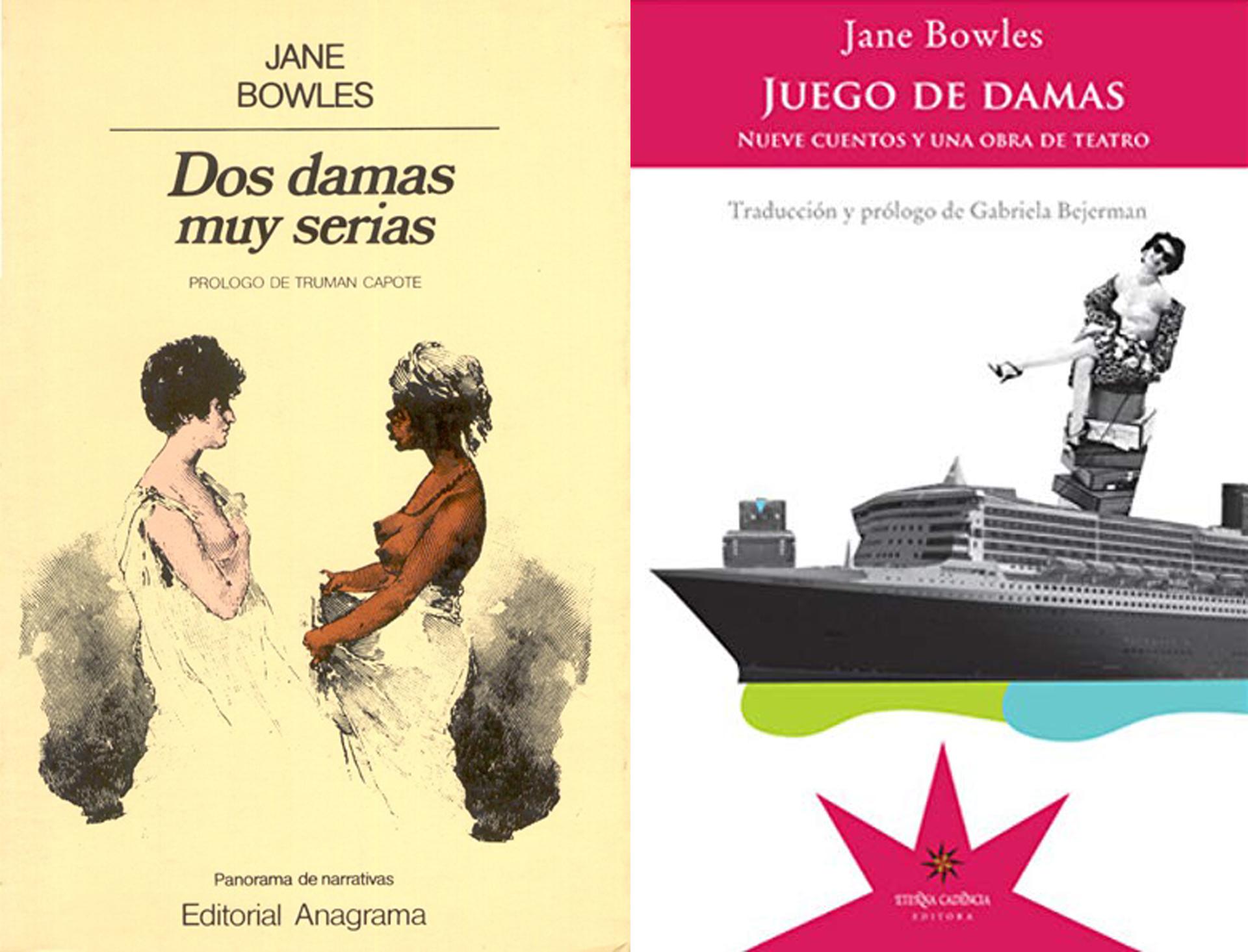 """""""Dos damas muy serias"""" y """"Juego de damas"""", de Jane Bowles"""