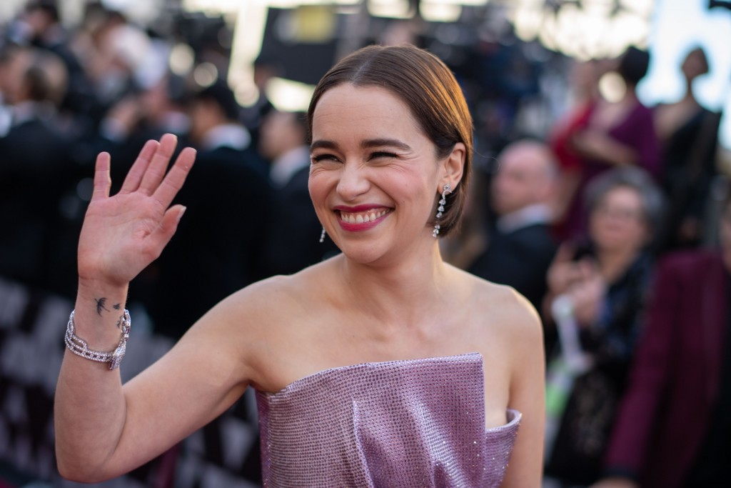 Emilia Clarke arrives on the red carpet of The 91st Oscars® at the Dolby® Theatre in Hollywood, CA on Sunday, February 24, 2019.