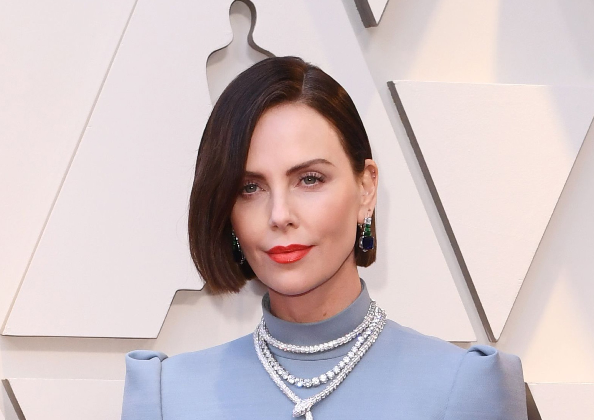 Mandatory Credit: Photo by David Fisher/REX/Shutterstock (10112734fz) Charlize Theron 91st Annual Academy Awards, Arrivals, Los Angeles, USA - 24 Feb 2019