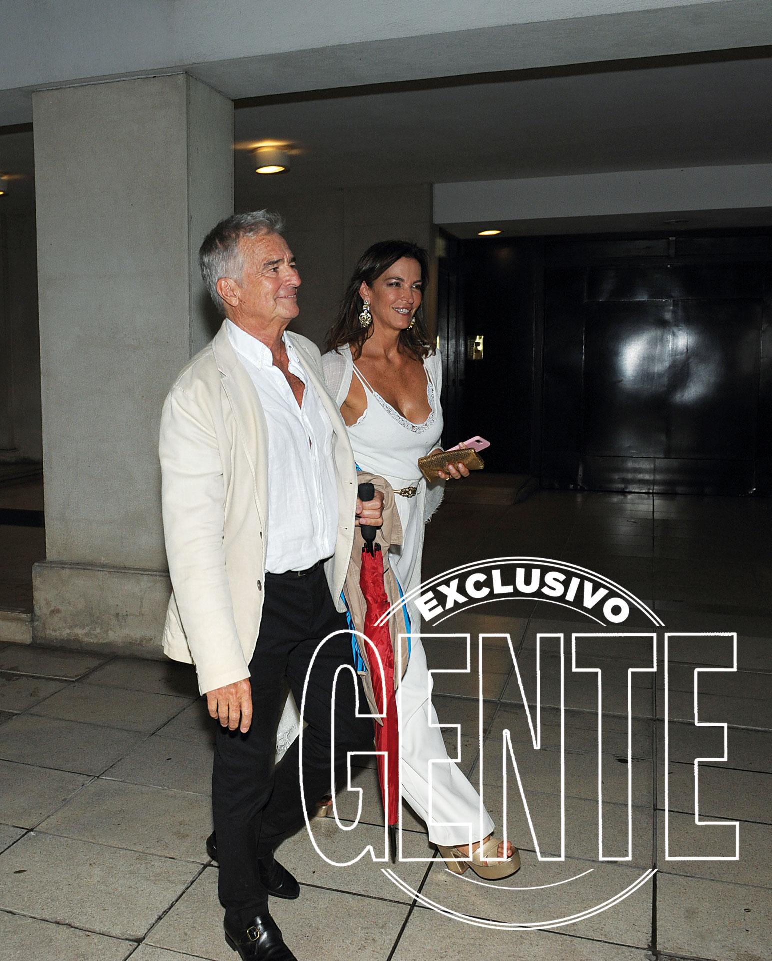 Ignacio Viale del Carril, ex yerno de Mirtha, junto a su mujer, Mariana Virasoro.