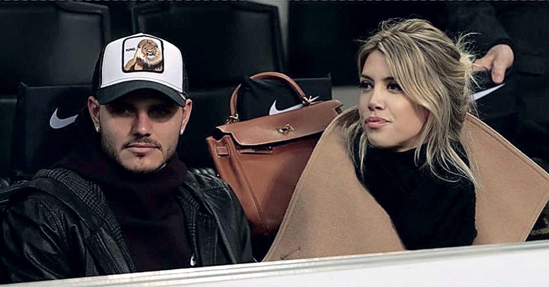 """Mientras negocia el contrato de Icardi con el Inter, denuncia: """"Muchos intentan desestabilizarme""""."""