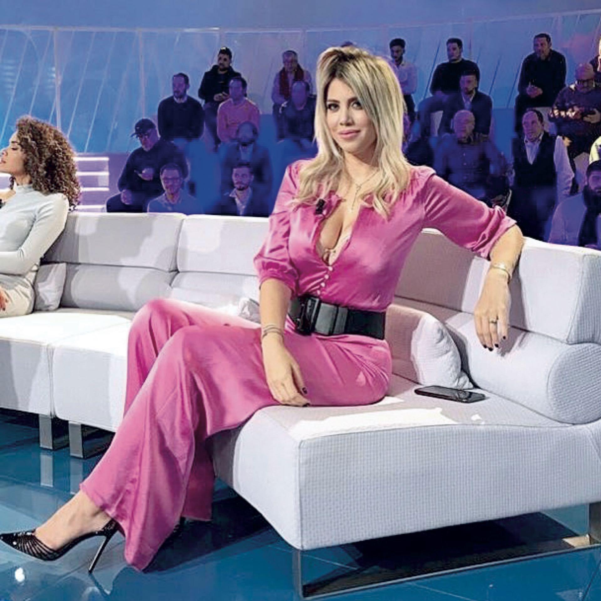 Wanda en la televisión italiana