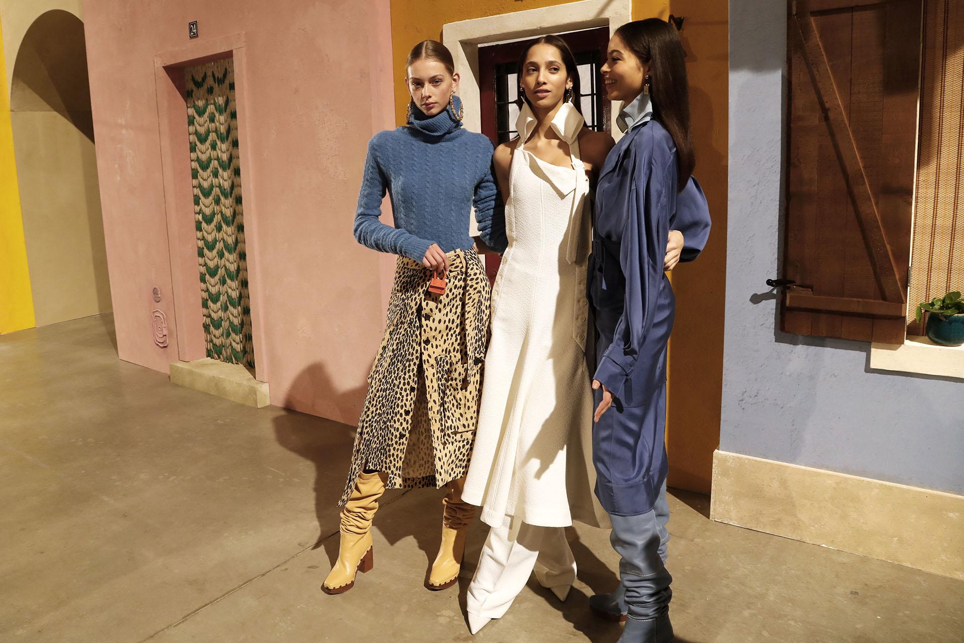 Jacquemus abrió la temporada de otoño-invierno 2019 de la semana de la moda en París. Una colección llena de colores vibrantes, líneas oversized y equipos ideales para ir a trabajar