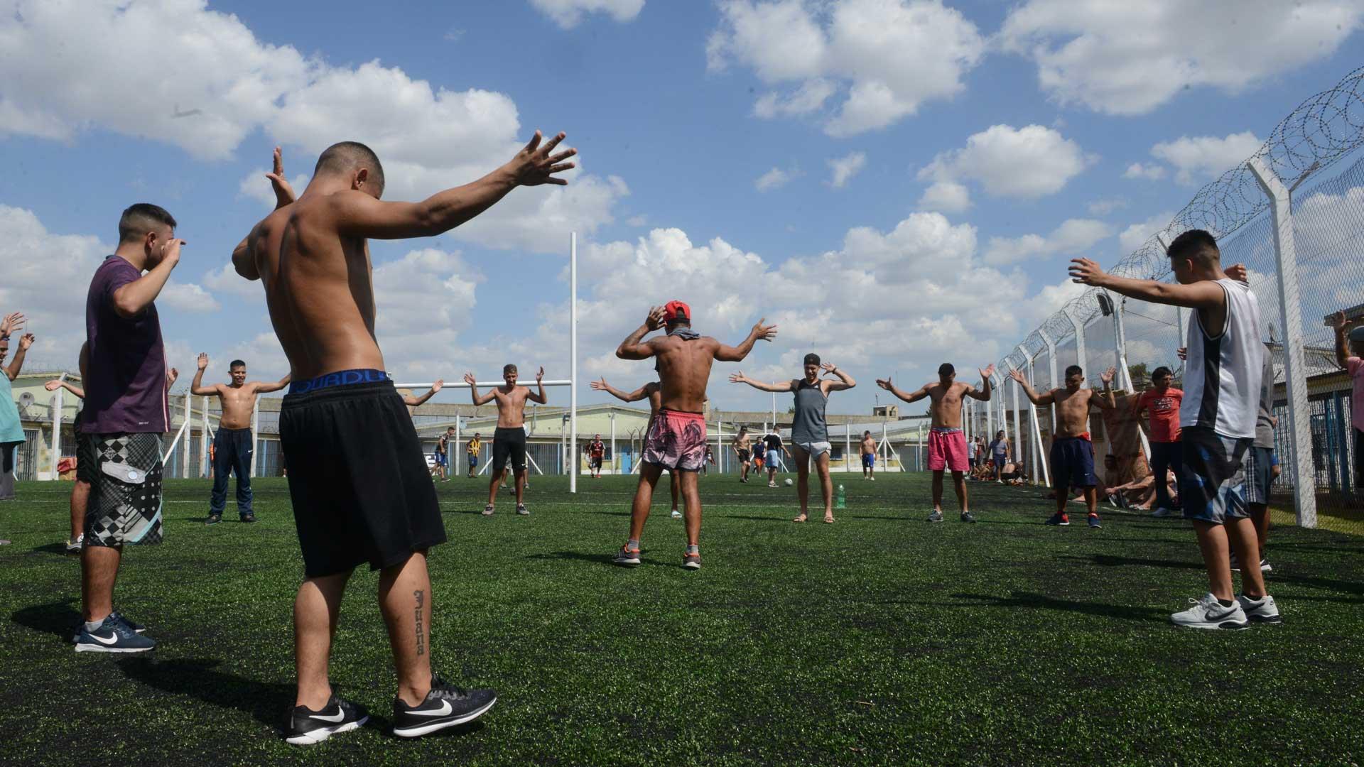 El deporte es un aliado fundamental en la reinserción. Foto: Fernando Calzada/DEF.