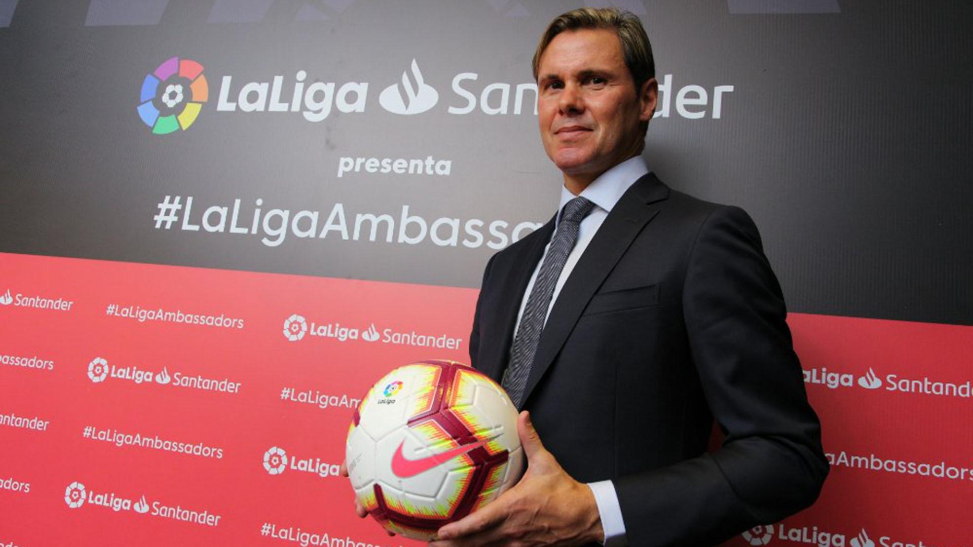 Fernando Redondo, ex futbolista, es pareja de Natalia Solari (La Liga)