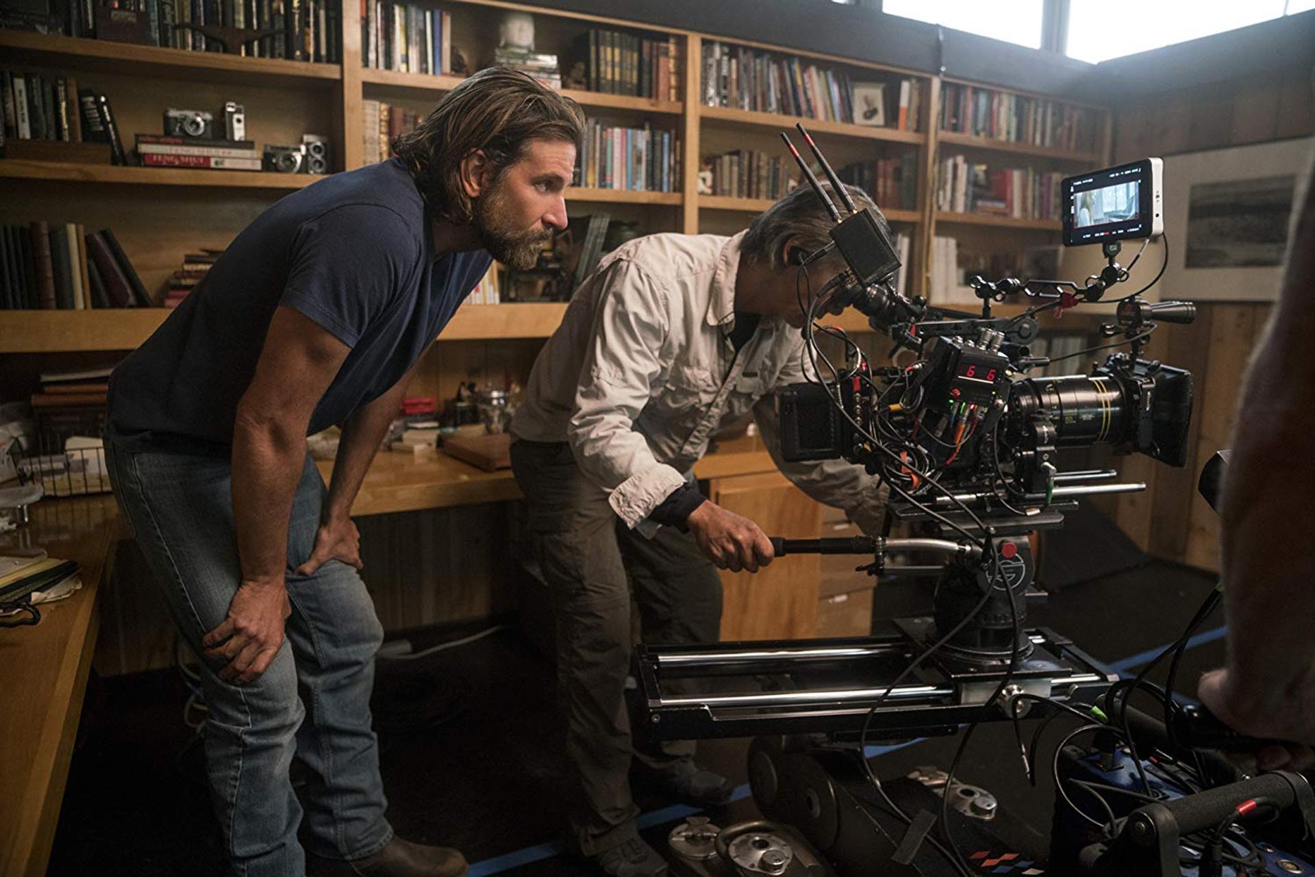 """Bradley Cooper detrás de cámara de """"A Star is Born"""""""