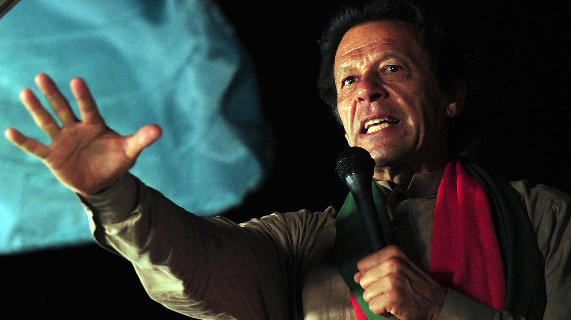 Imra Khan, actual primer ministro de Pakistán(AFP)